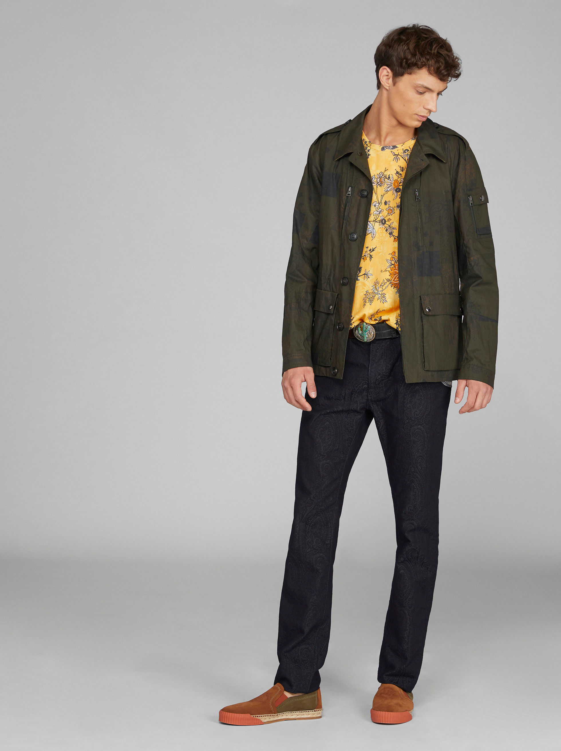 WATER REPELLENT COTTON FIELD JACKET