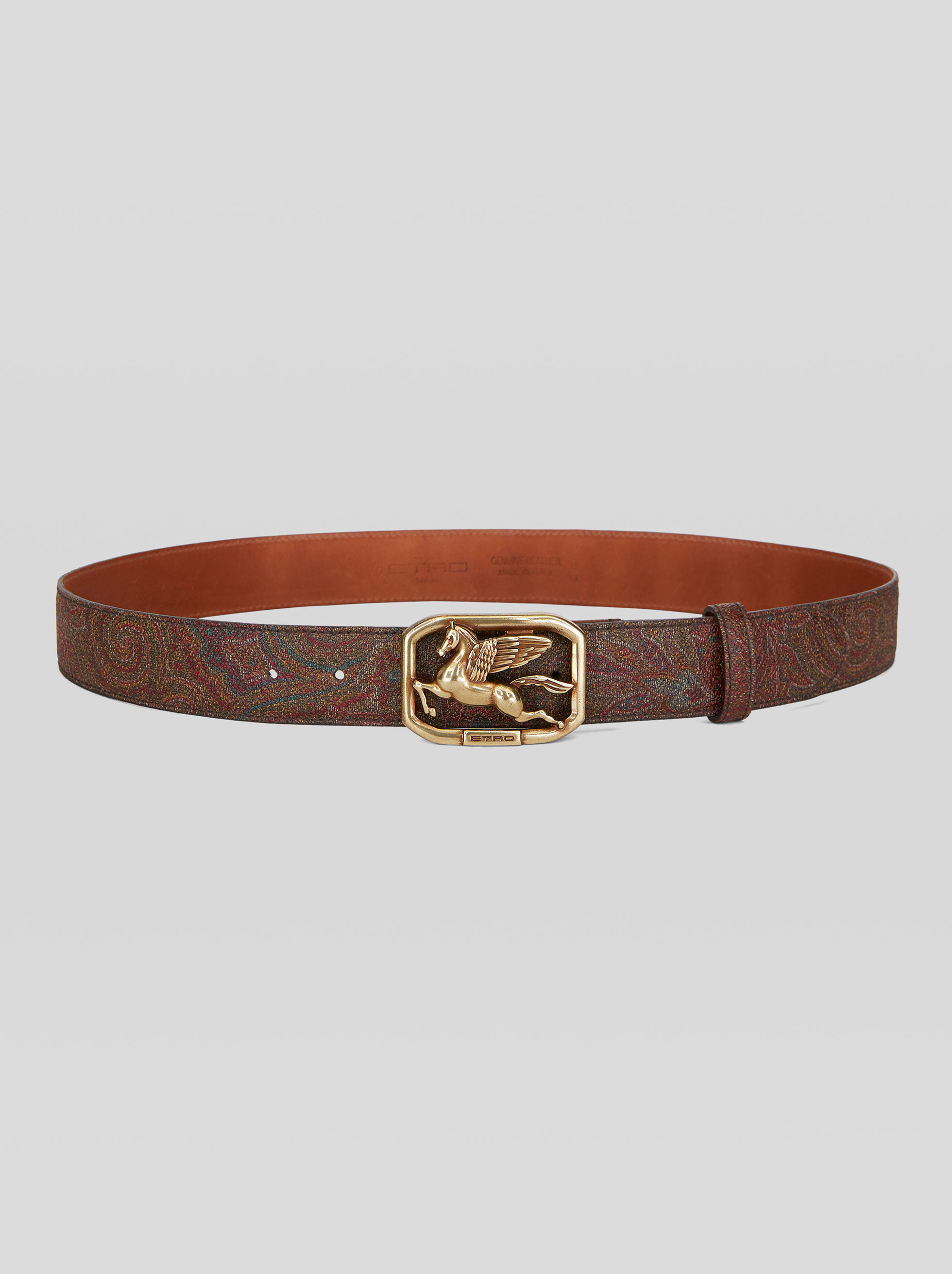 BELT WITH PEGASO BUCKLE