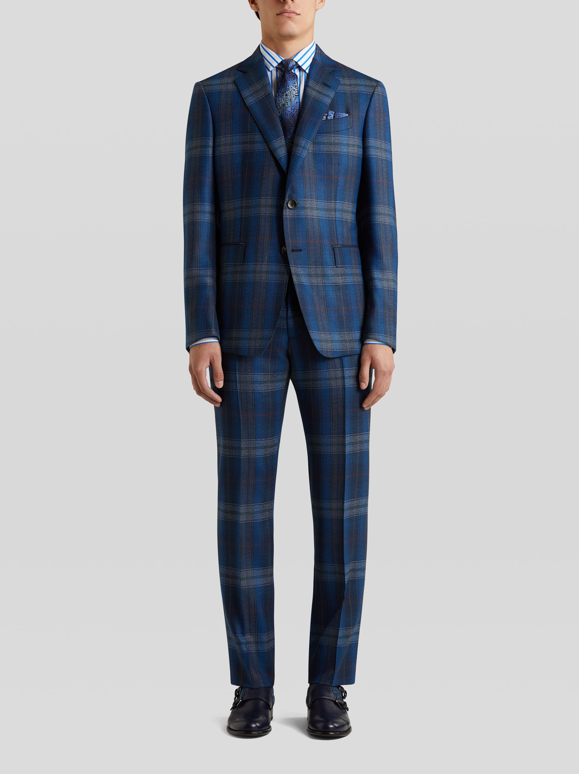 TAILORED CHECK SUIT