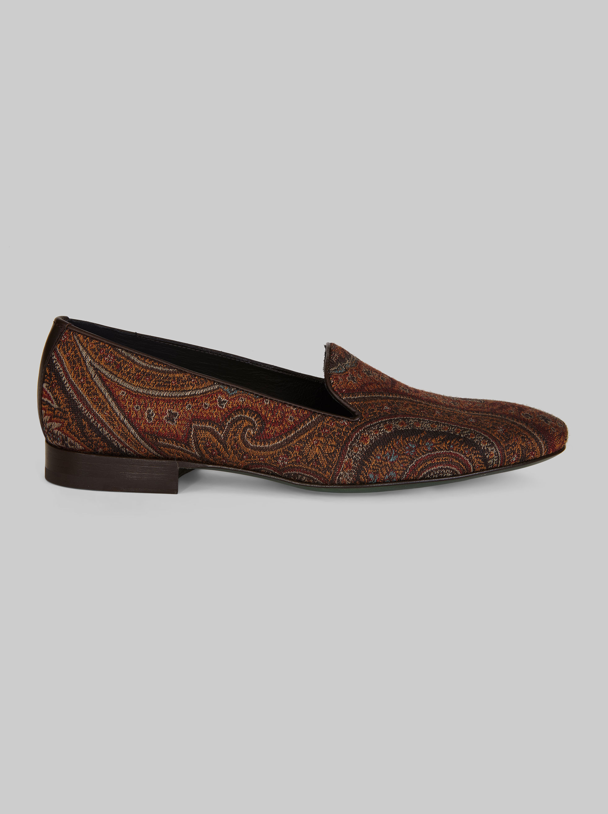 PAISLEY JACQUARD LOAFERS