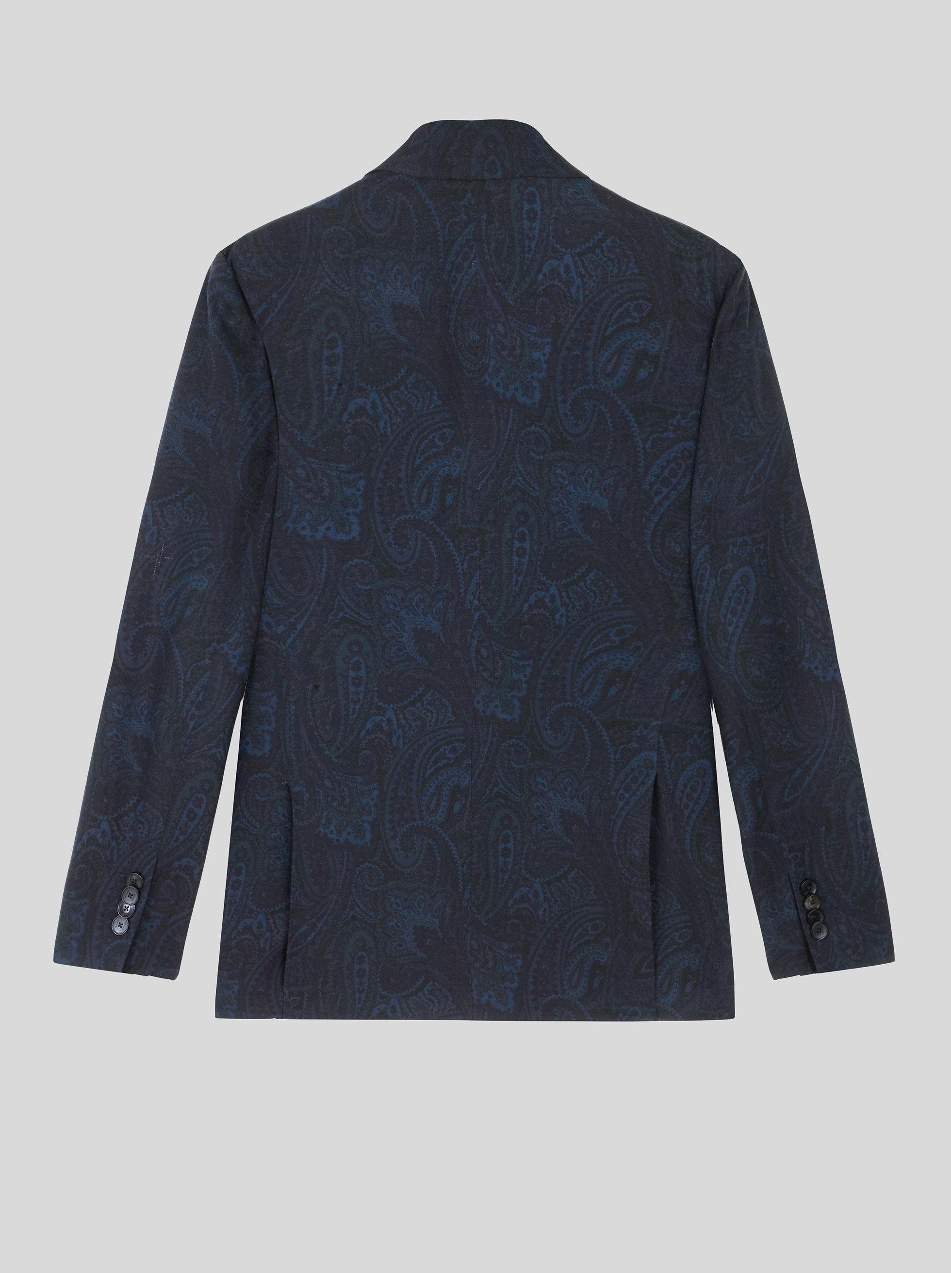 TAILORED JACKET WITH PAISLEY PRINT