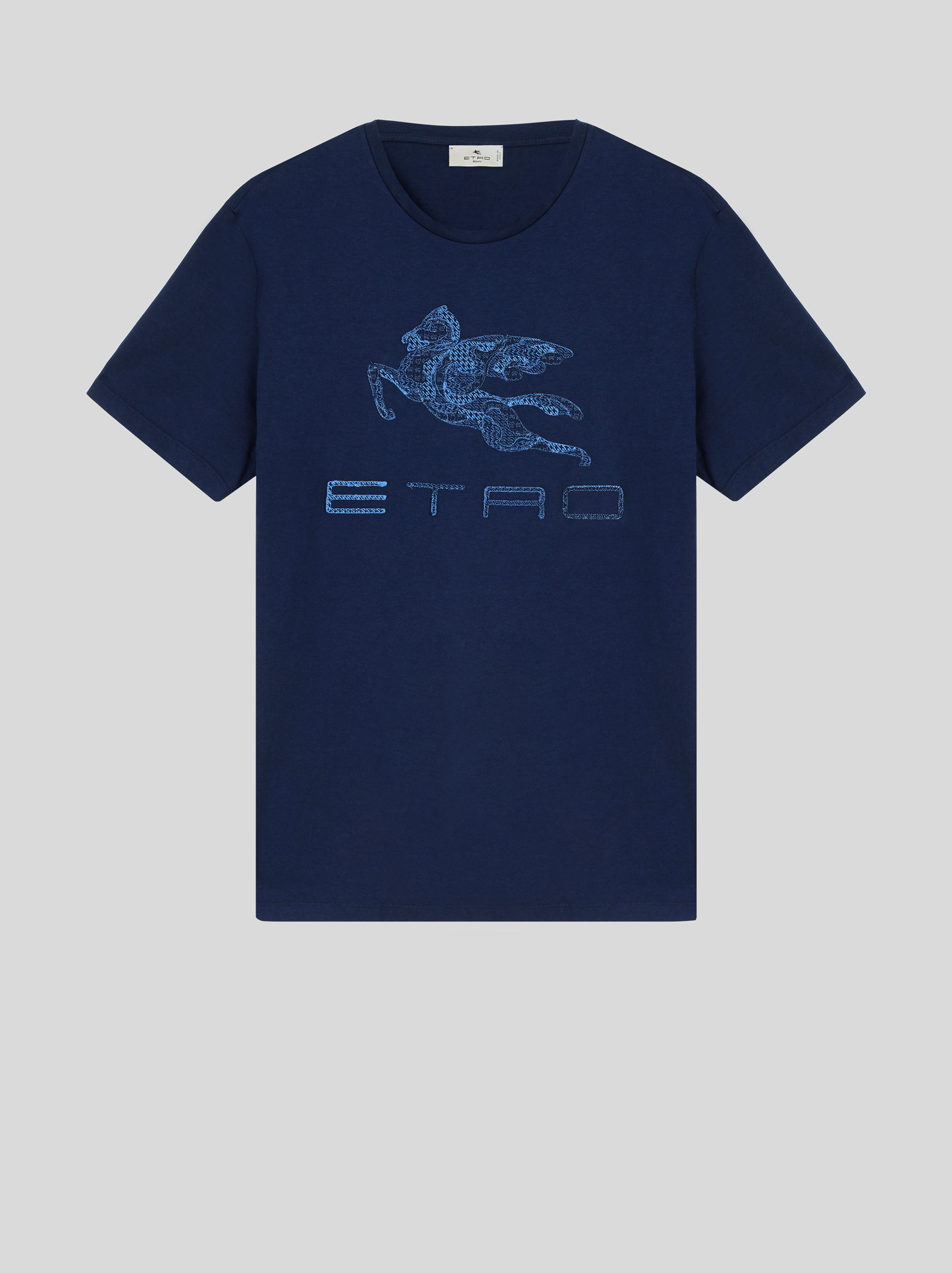 T-SHIRT WITH EMBROIDERED PEGASO
