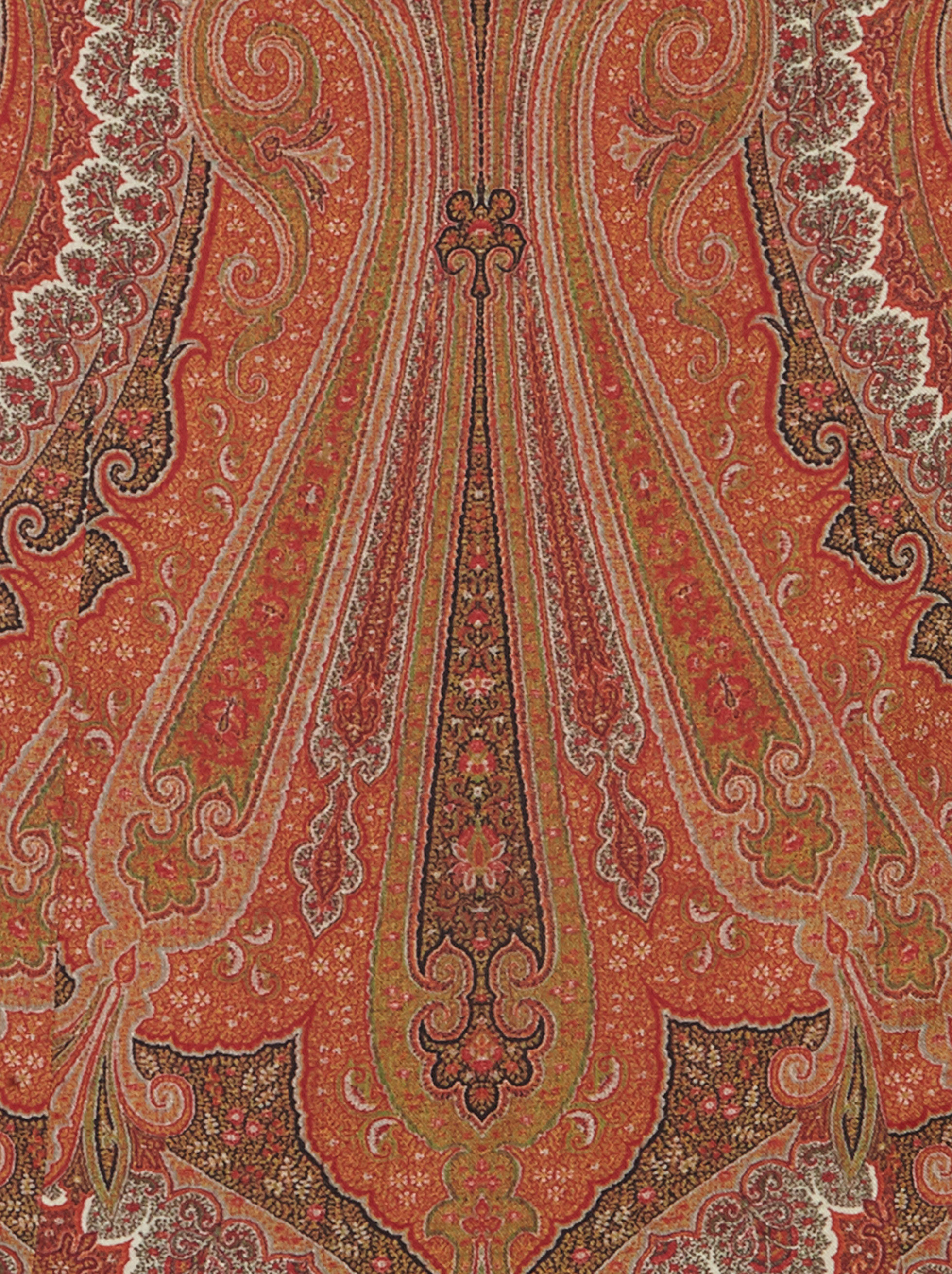 ABITO LUNGO STAMPA PAISLEY