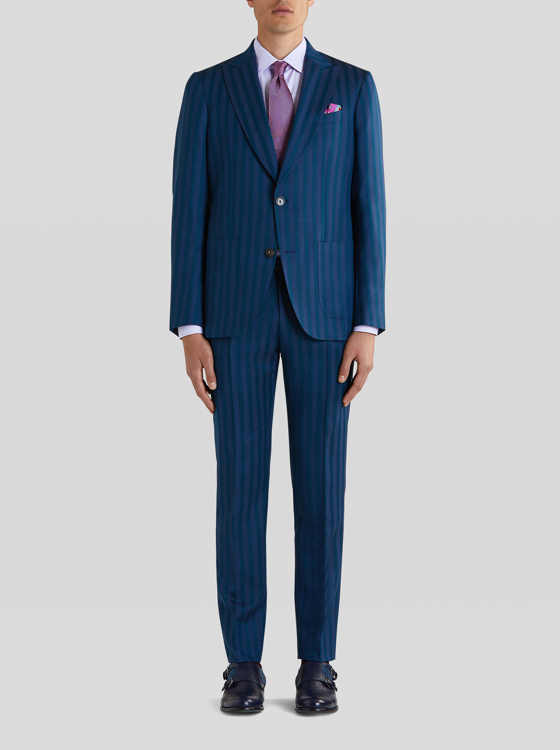 TAILORED STRIPED SUIT