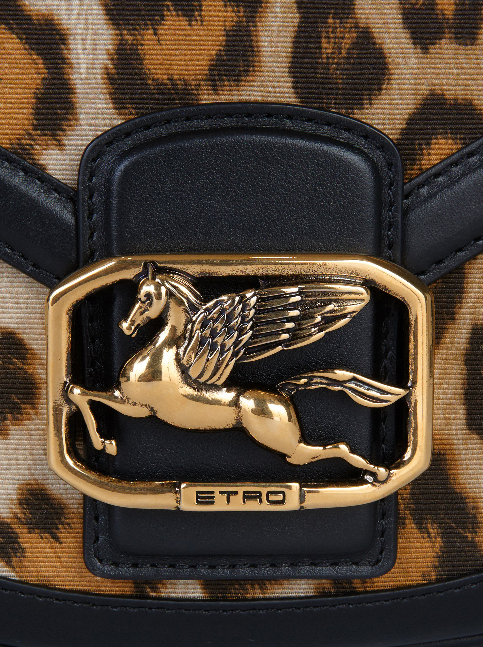 ANIMAL-PRINT PEGASO BAG