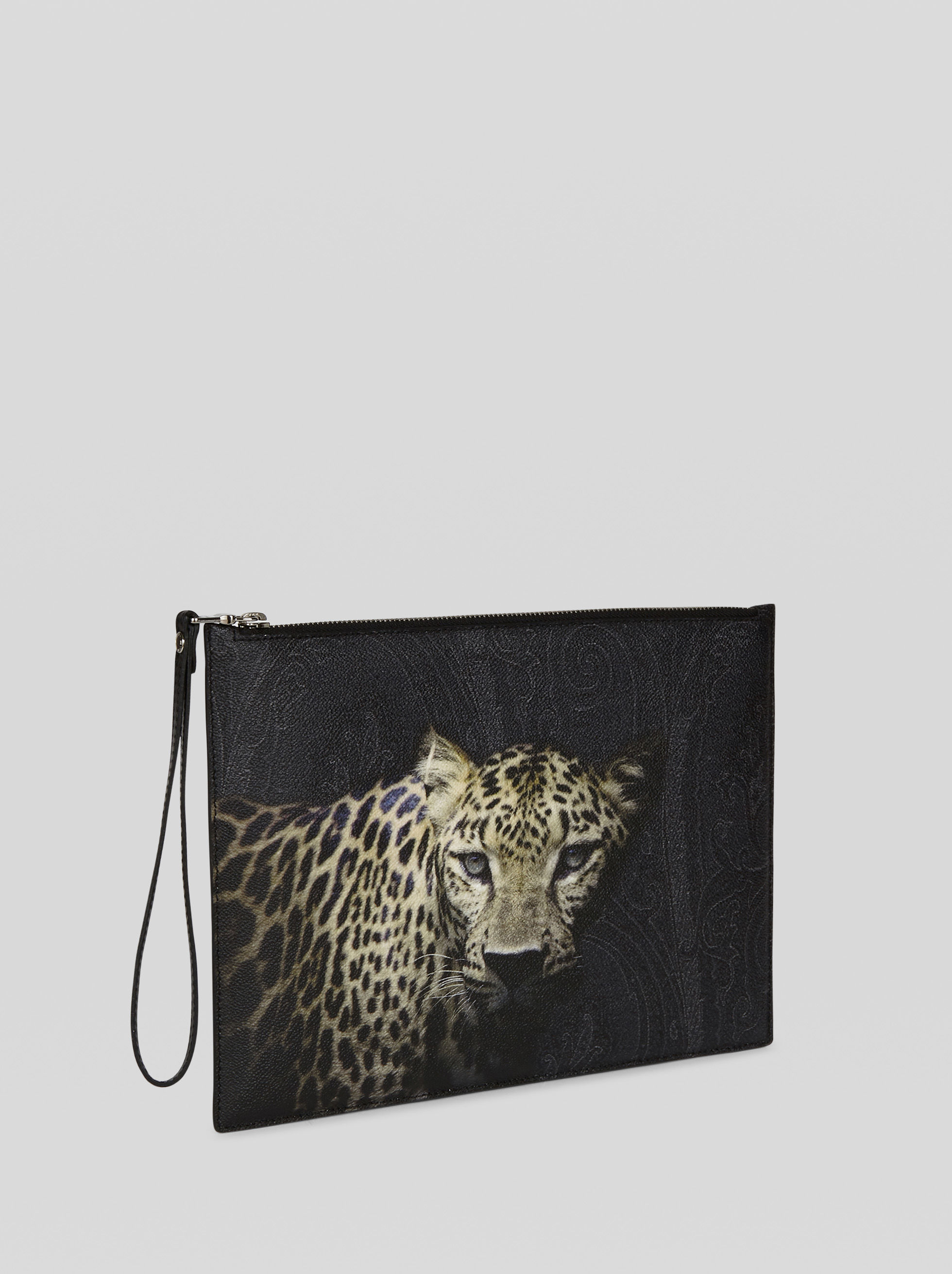 ANIMAL PRINT PAISLEY TABLET HOLDER
