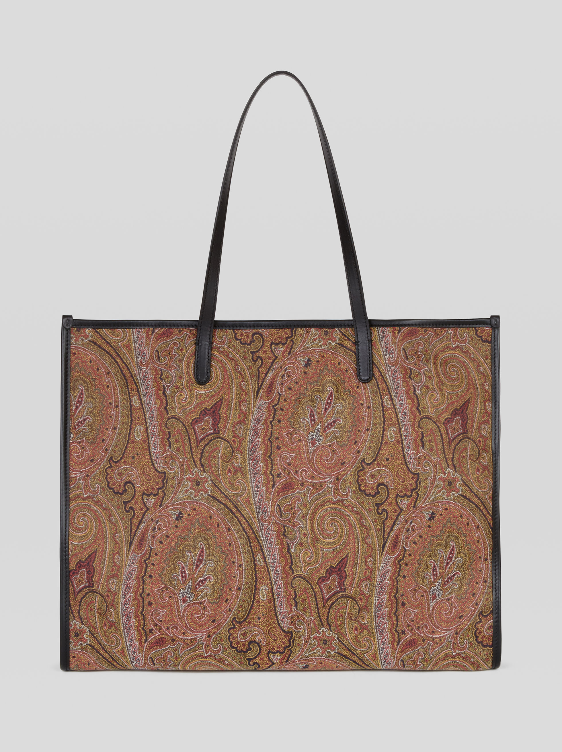LARGE SHOPPING BAG WITH EMBROIDERY