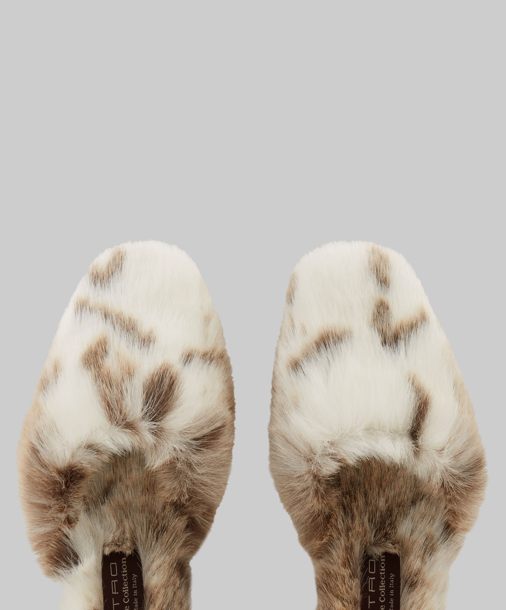 ECO FAUX FUR SLIPPERS