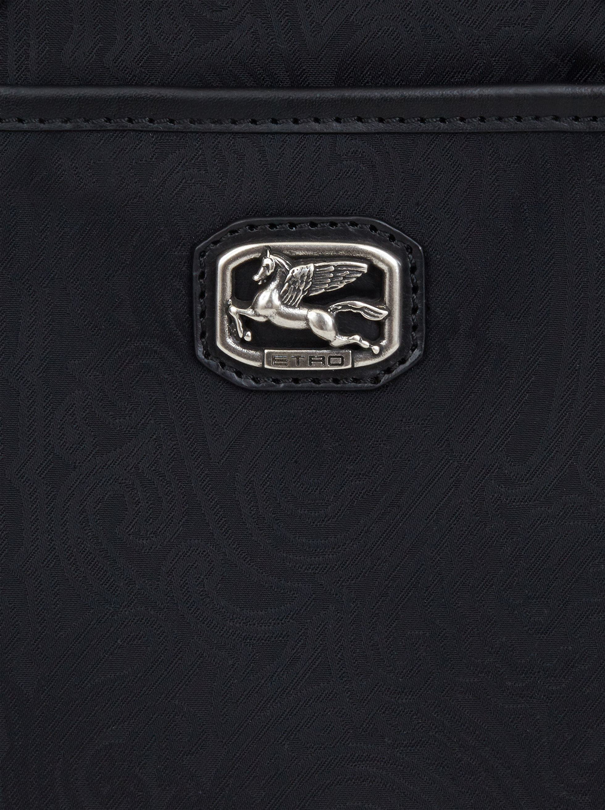 PAISLEY JACQUARD WORK BAG WITH SHOULDER STRAP