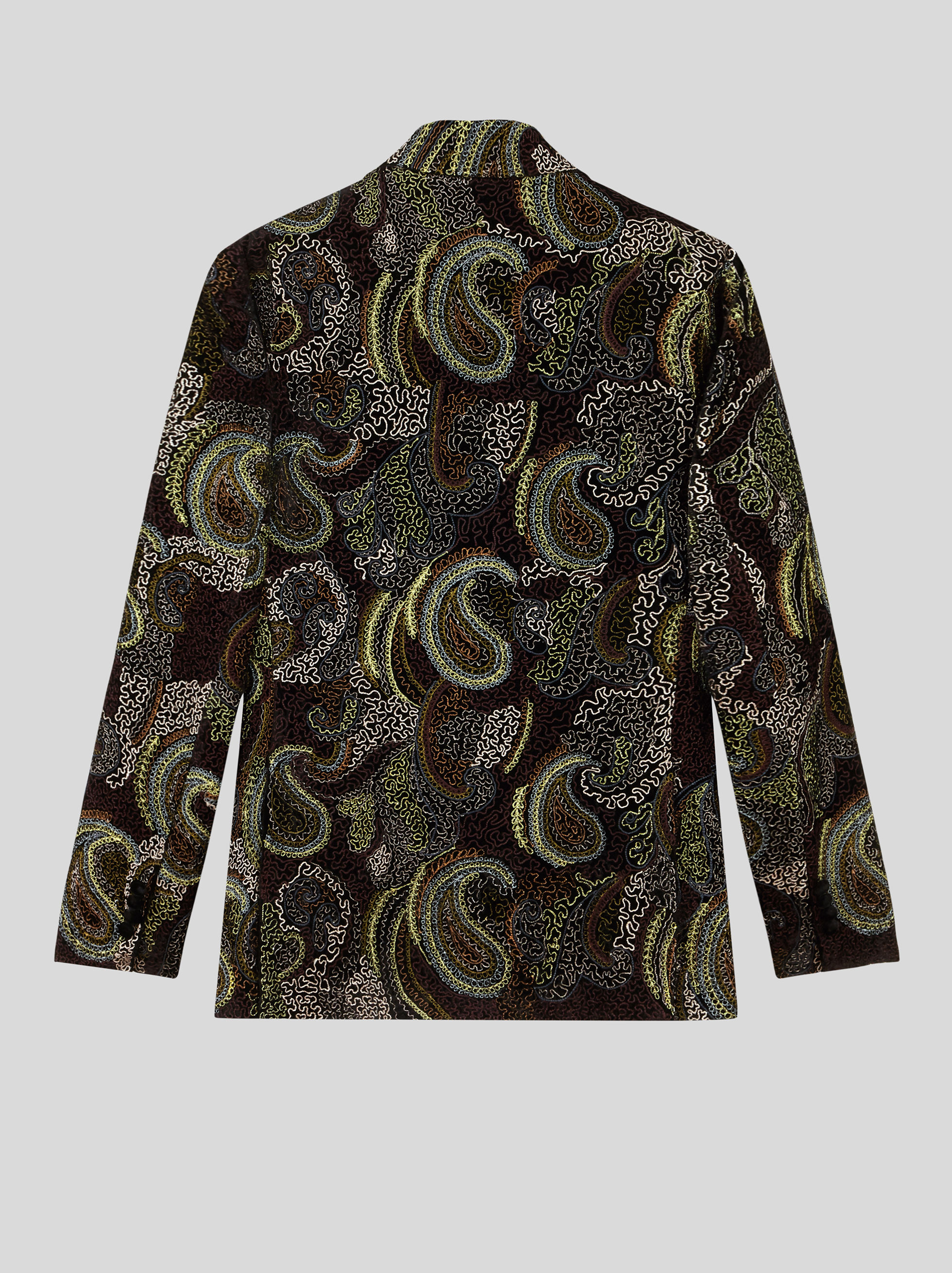 TAILORED JACKET WITH CARPET PRINT