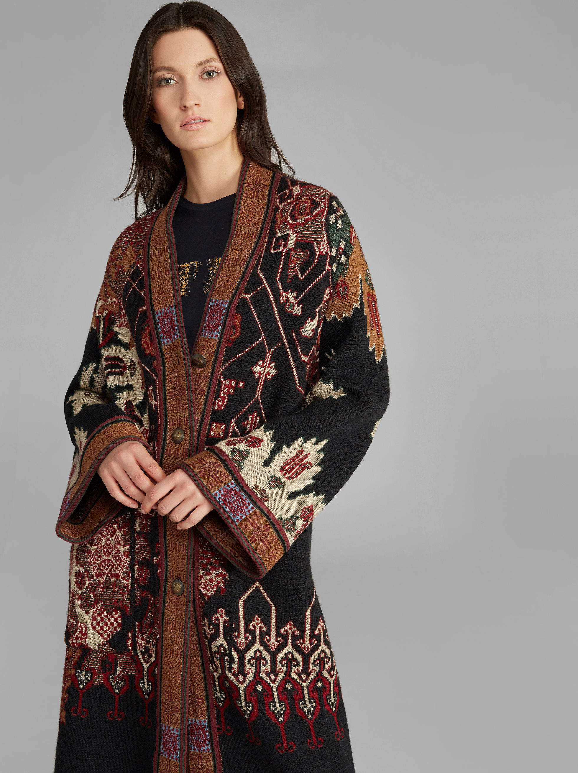 CARPET-PRINT COAT