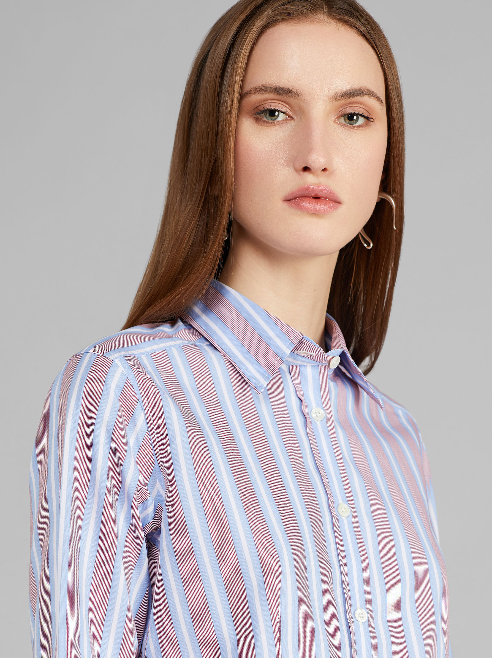 STRIPED COTTON SHIRT