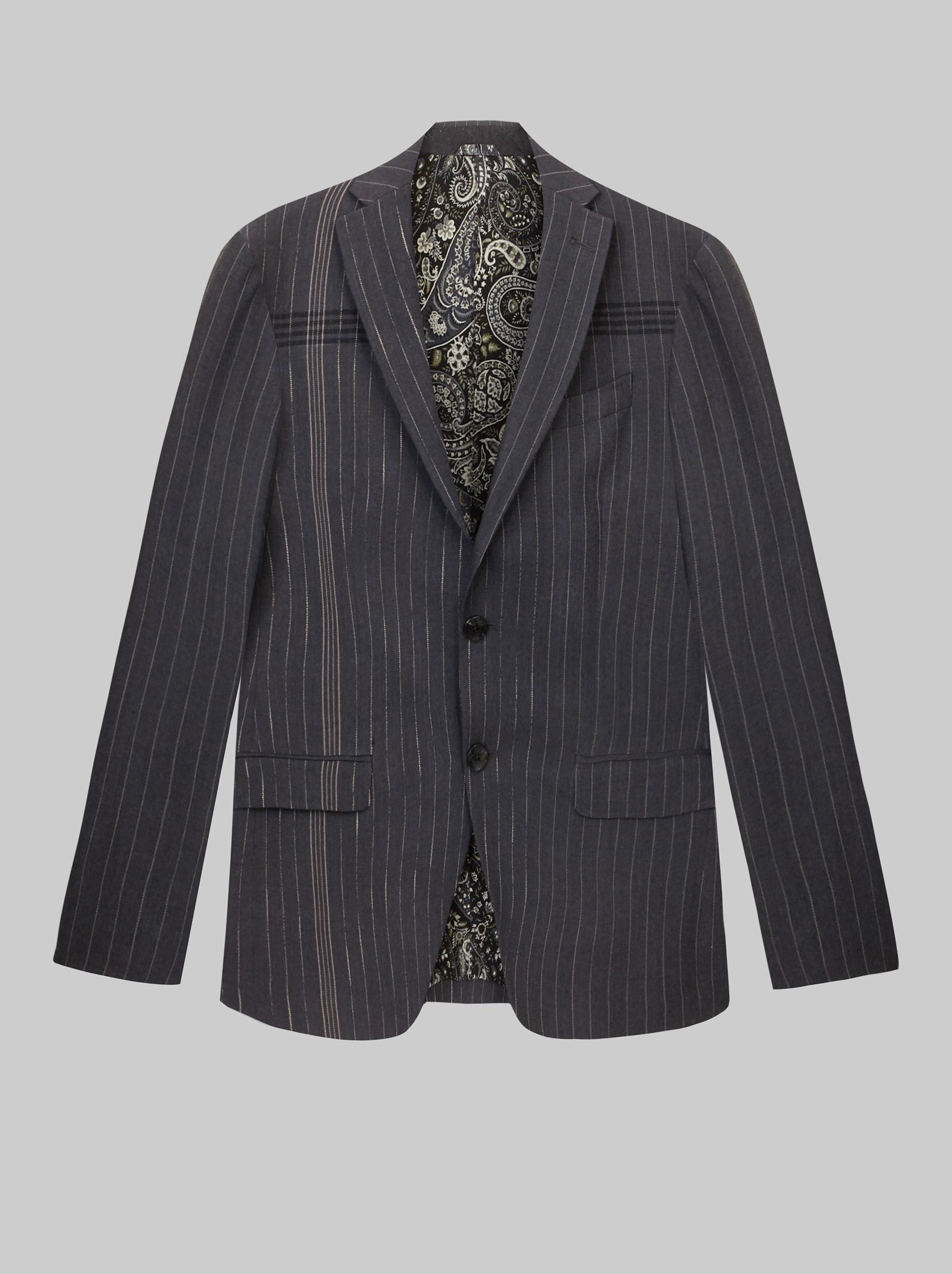 PINSTRIPE TAILORED JACKET