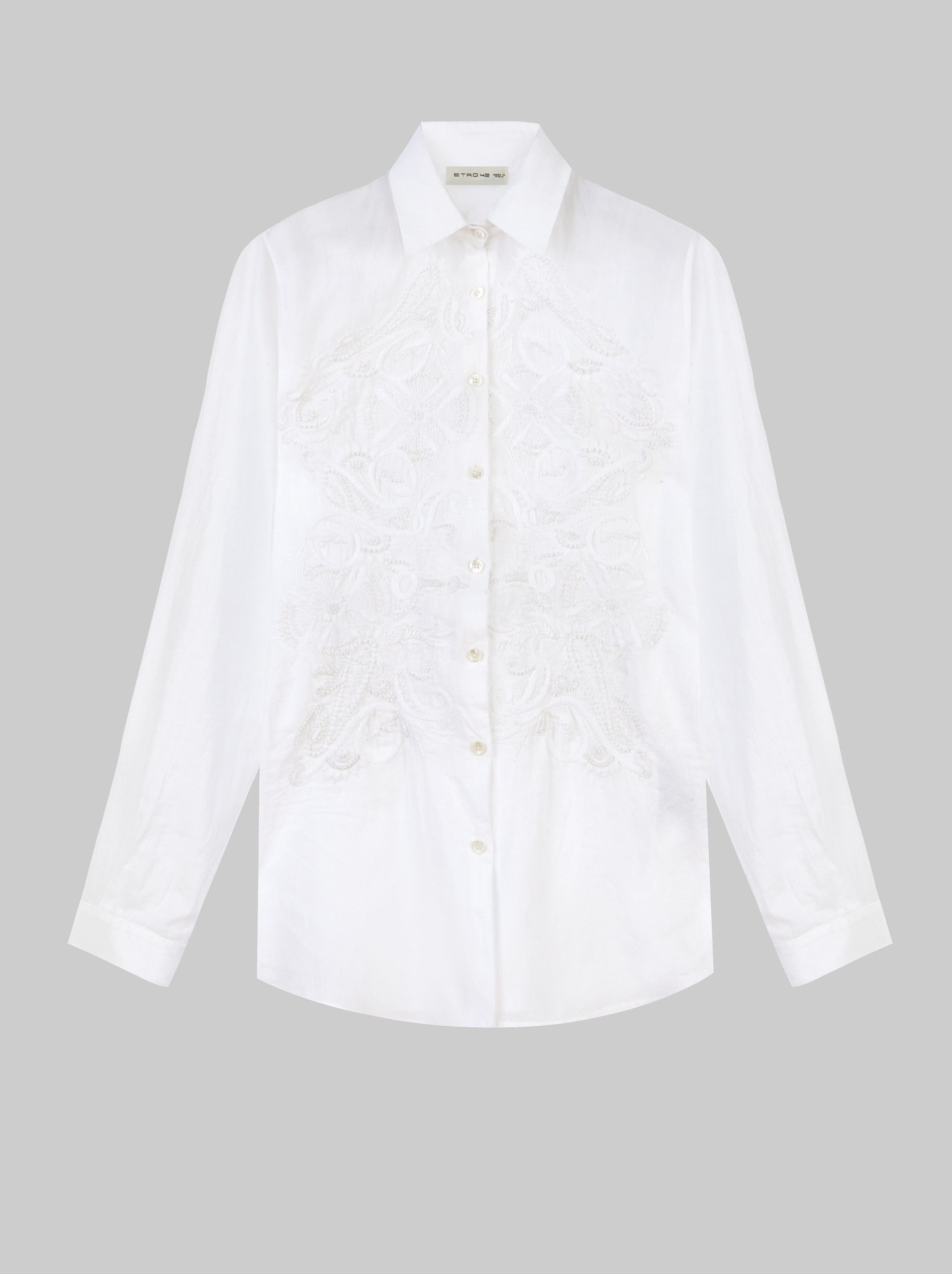 EMBROIDERED PAISLEY SHIRT