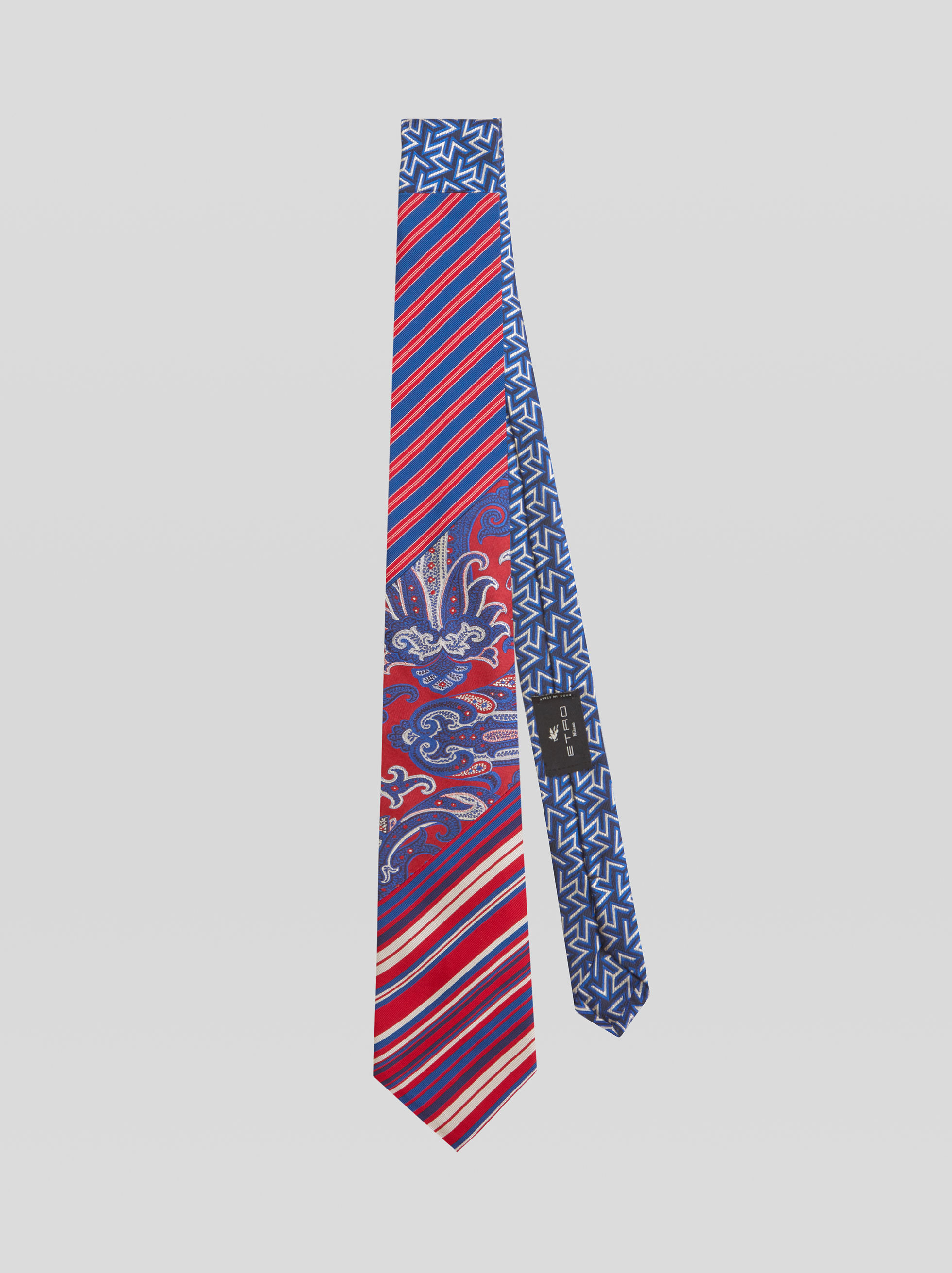 FOUR FABRIC JACQUARD TIE