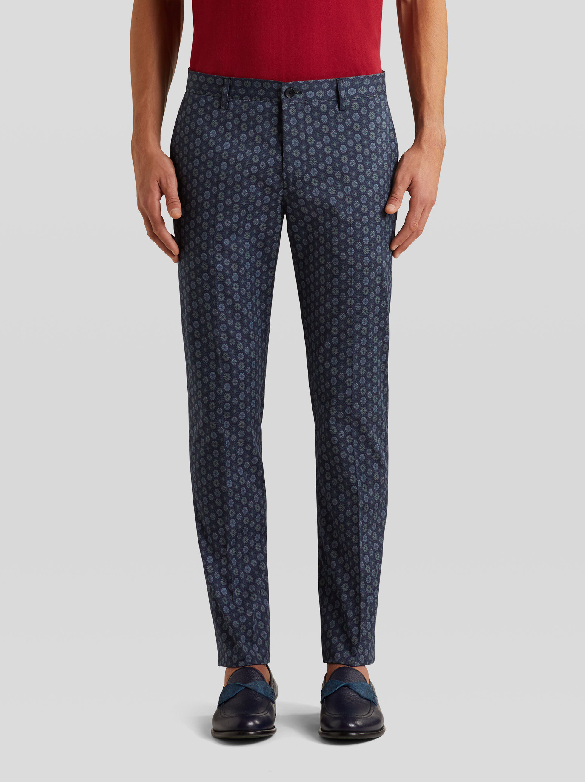 TAILORED PRINTED TROUSERS