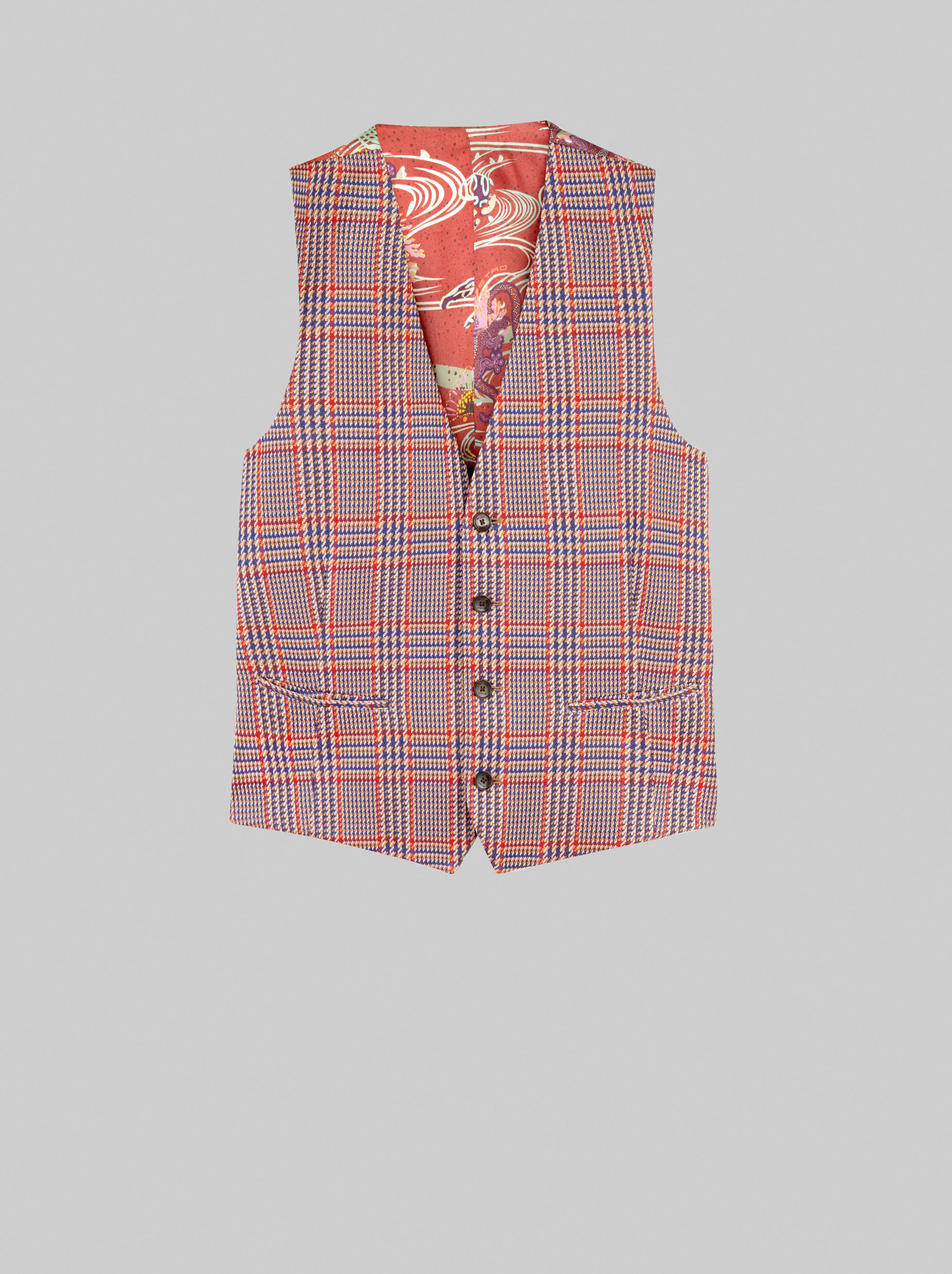 TAILORED PRINCE OF WALES WAISTCOAT