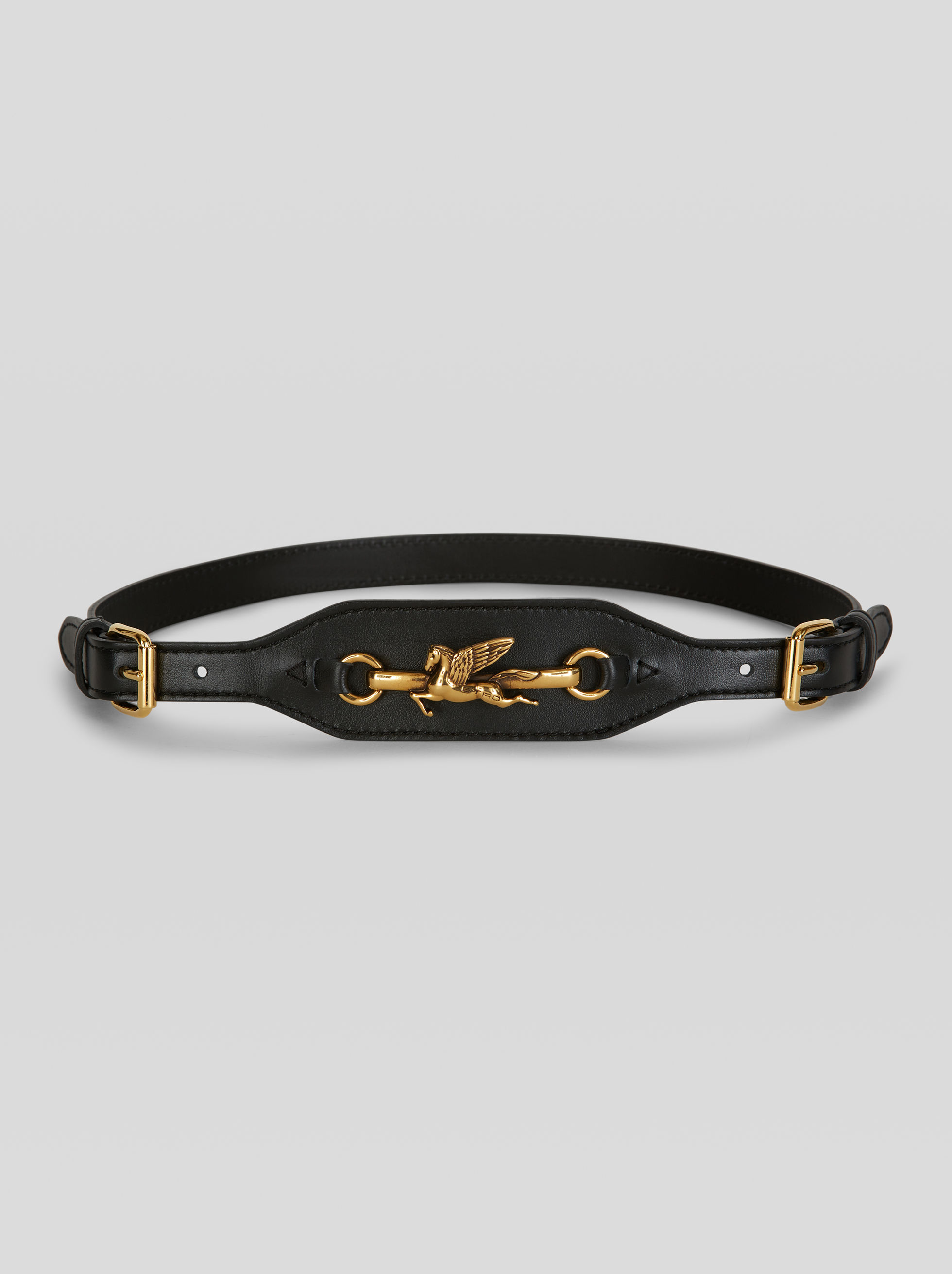 DOUBLE BUCKLE PEGASO BELT