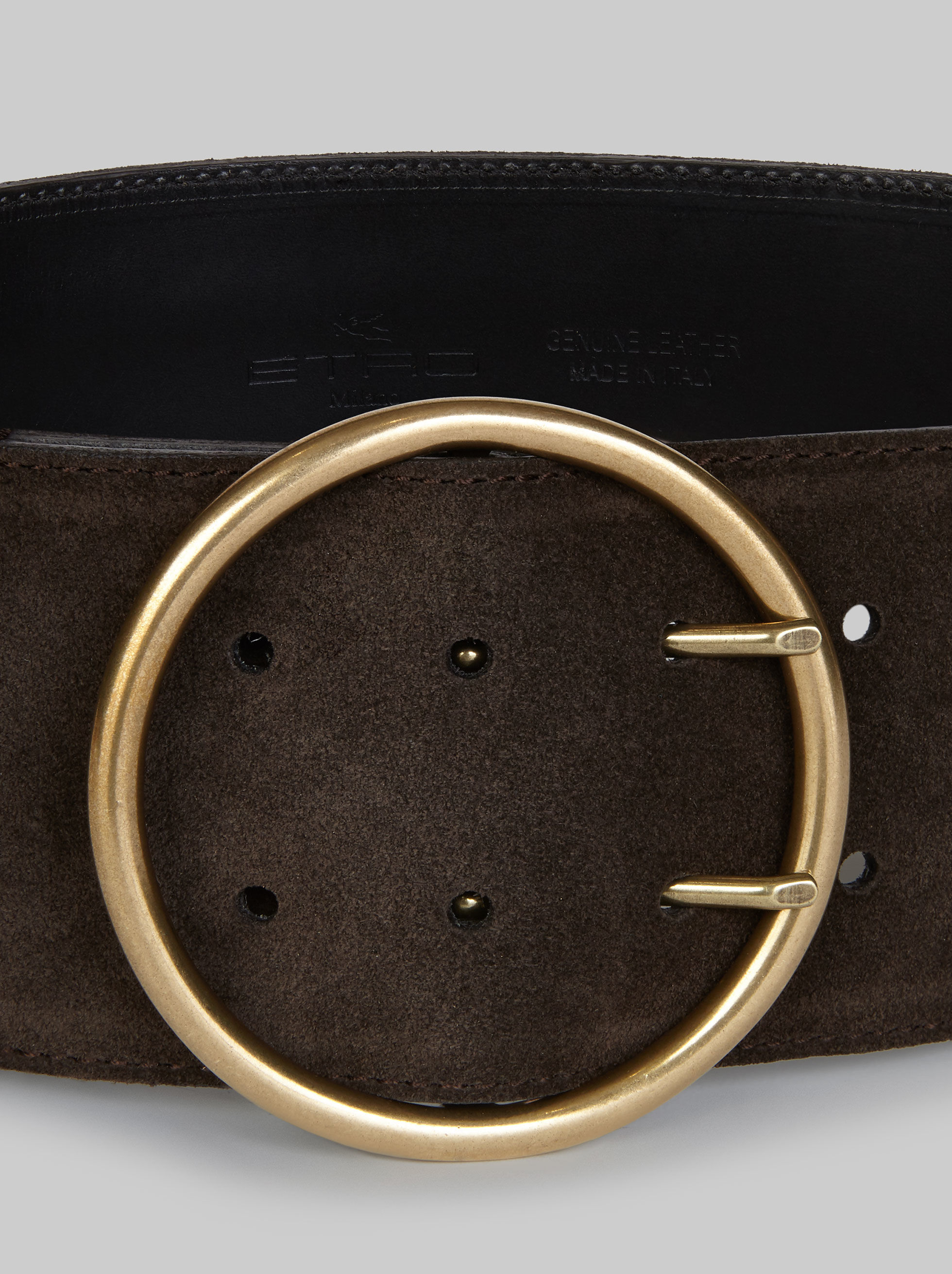 SUEDE BELT WITH STUDS