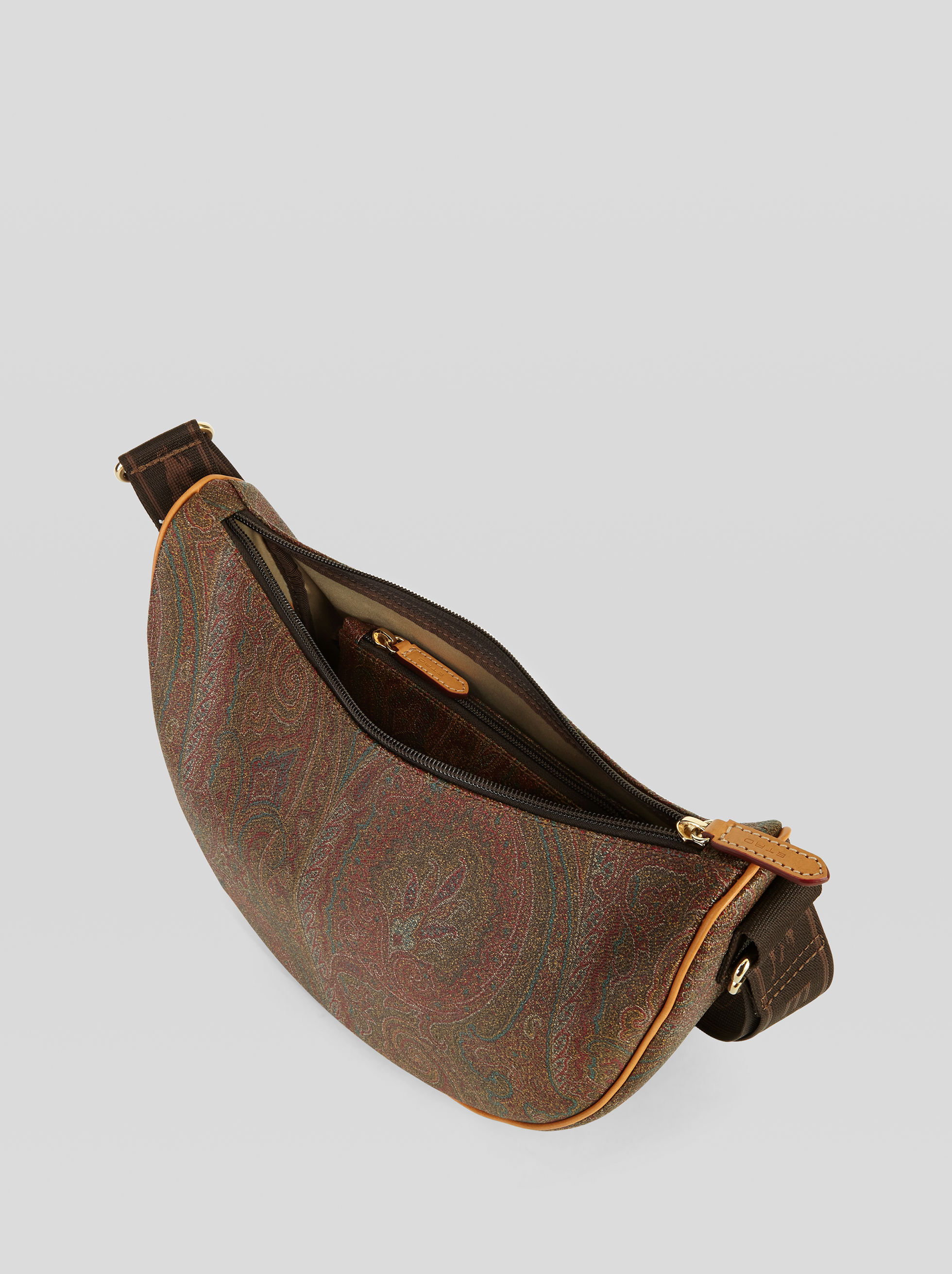 PAISLEY HOBO BAG WITH CLUTCH