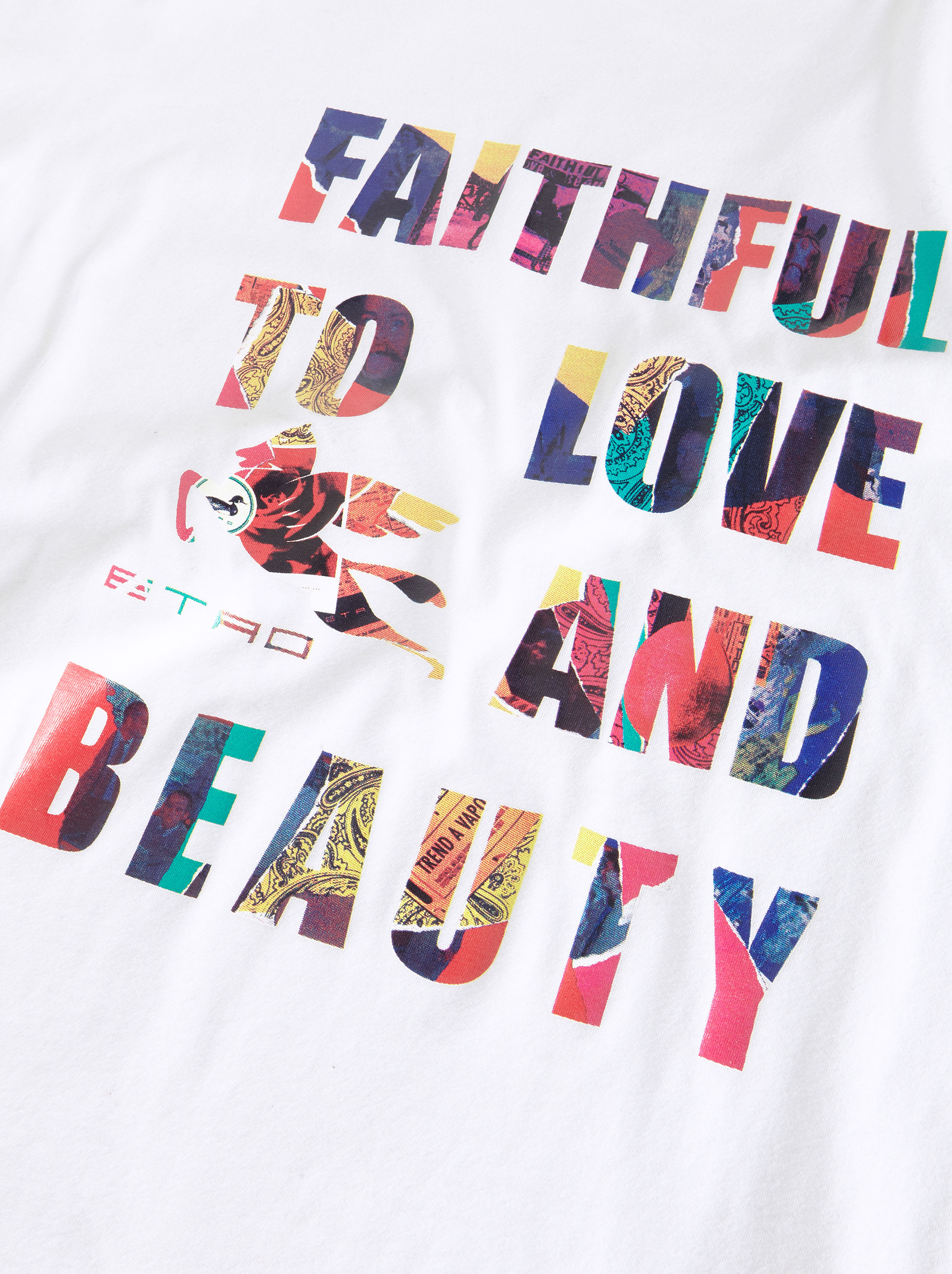 FAITHFUL TO LOVE AND BEAUTY T-SHIRT