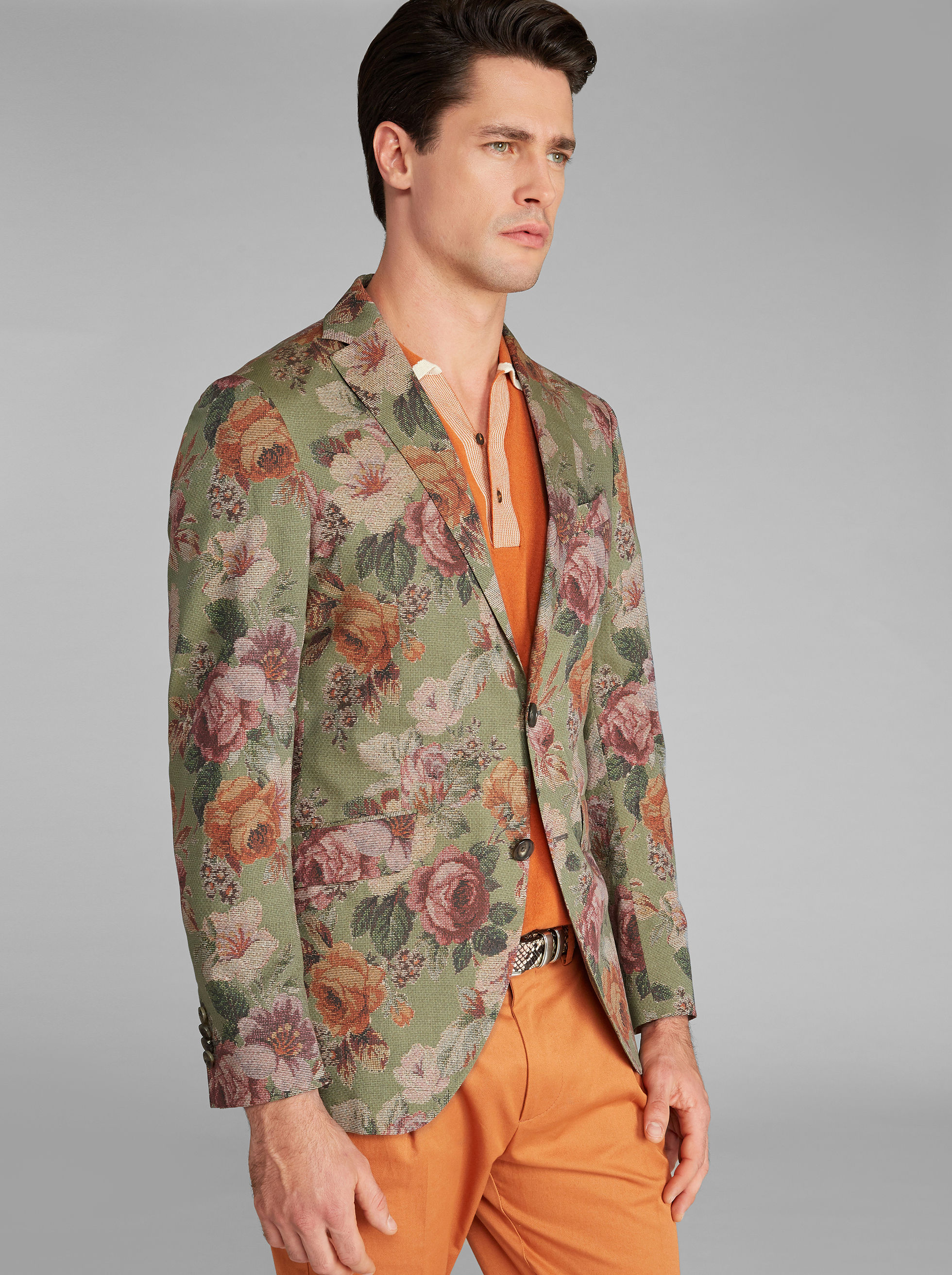 SUPERLEGGERA ROSE-PRINT JACKET