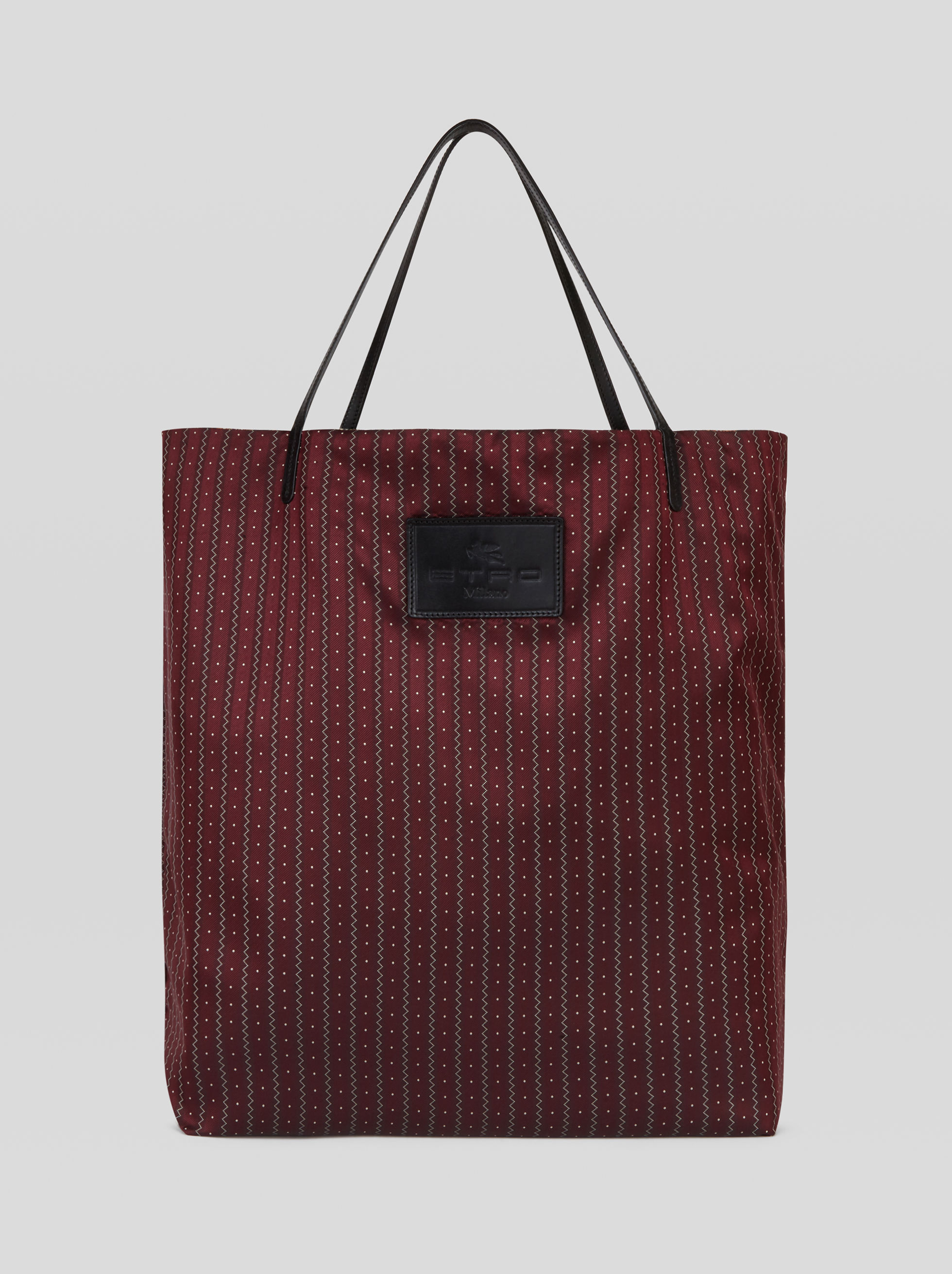 LARGE DOUBLE-SIDED SHOPPING BAG