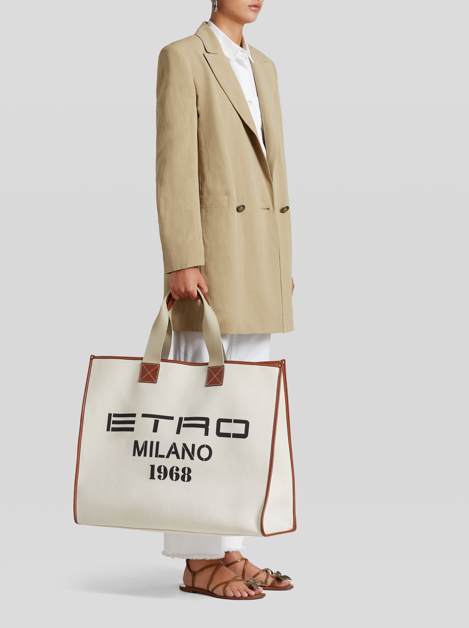 ETRO MILANO 1968' SHOPPING BAG