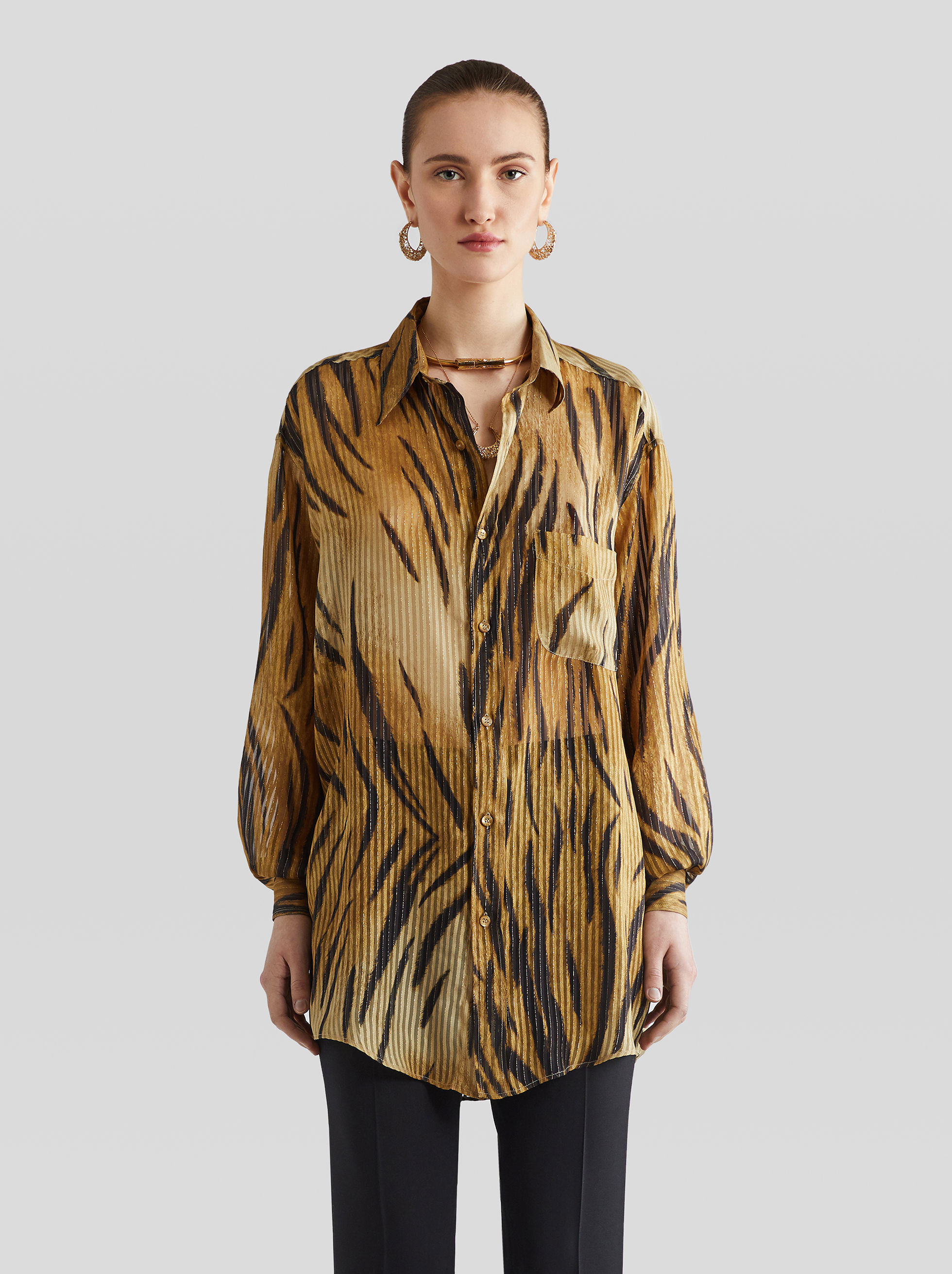 ANIMAL PRINT GE01 SHIRT