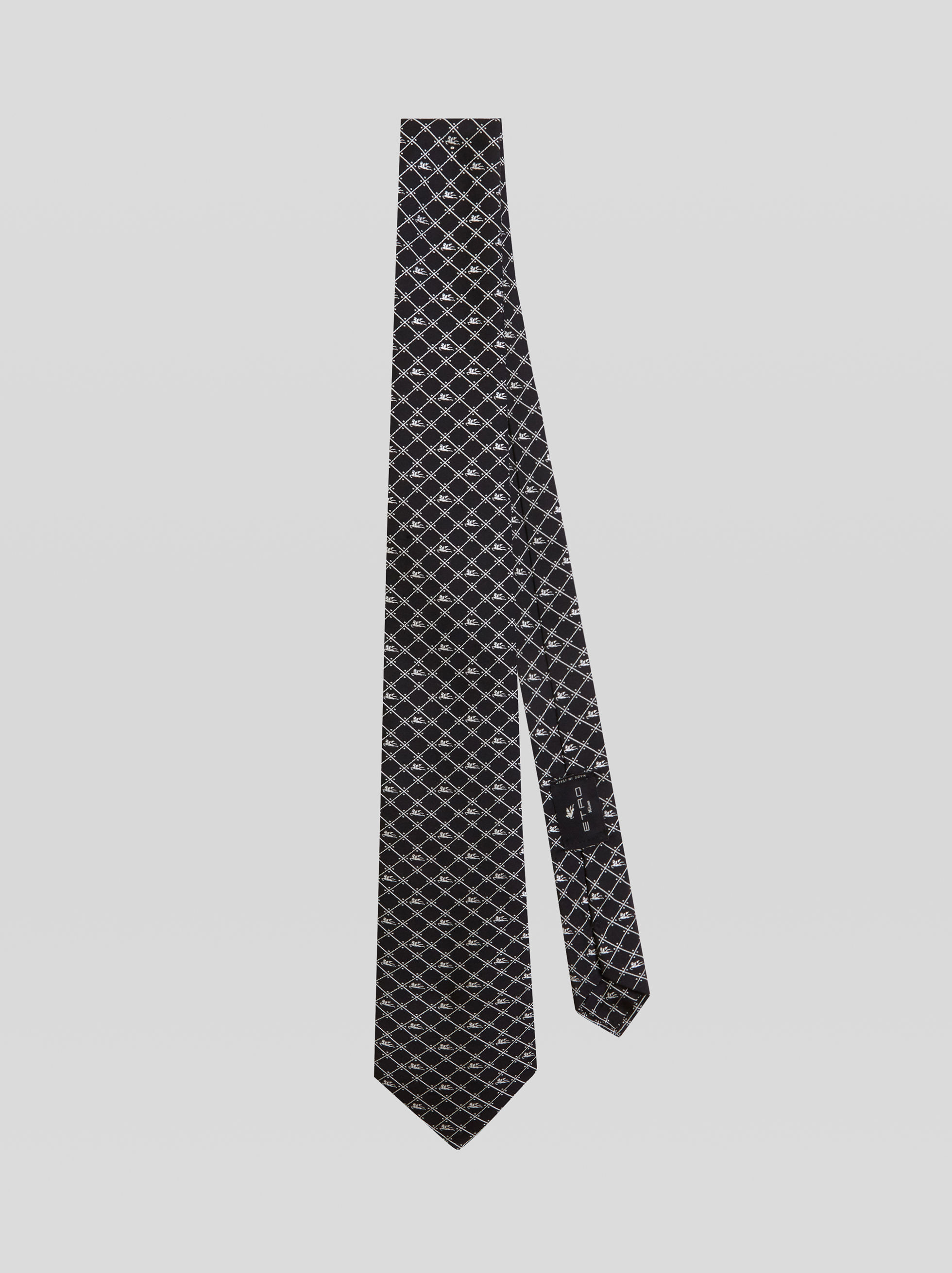 SILK TIE WITH PEGASO