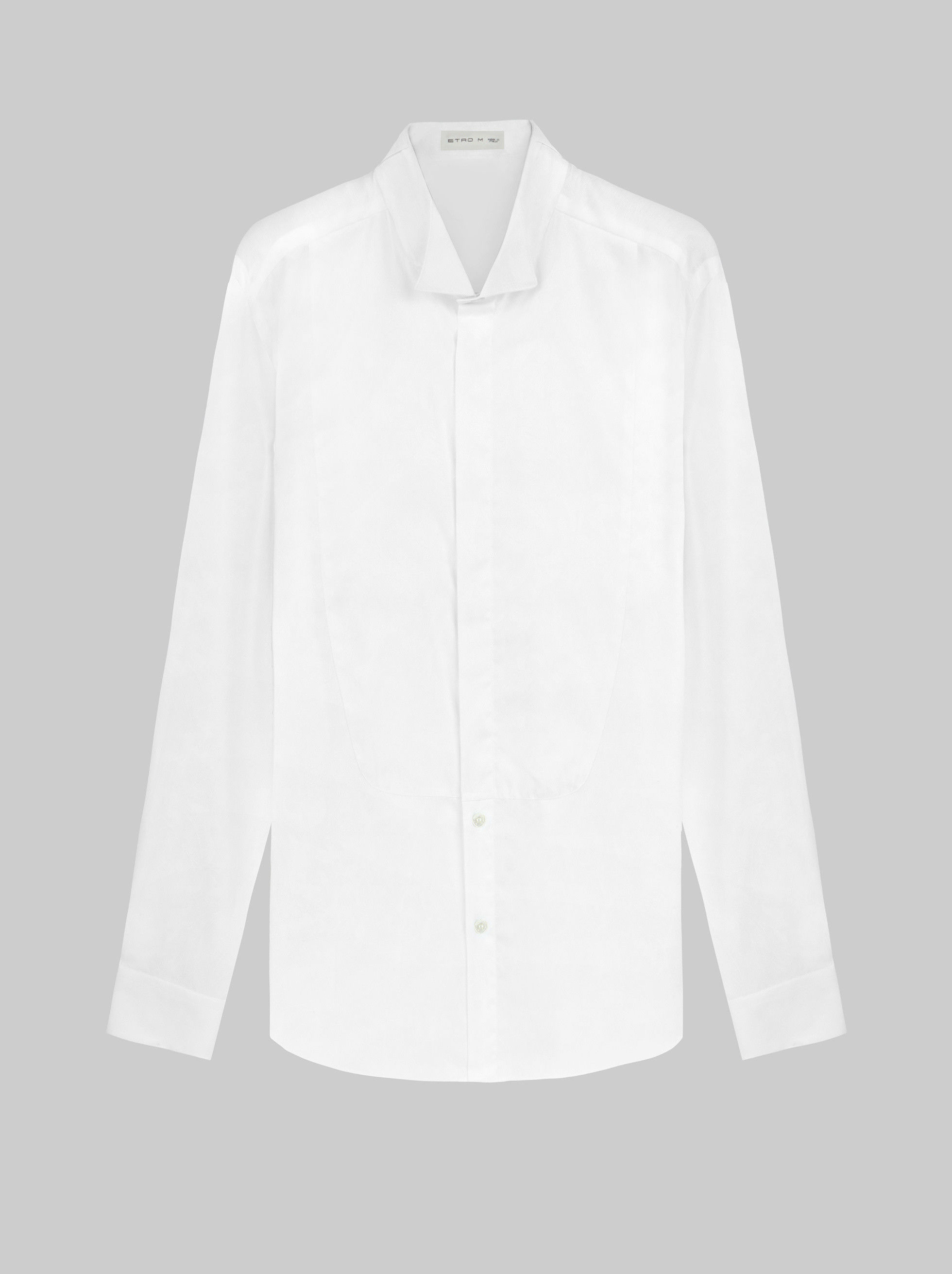 JACQUARD FORMAL DRESS SHIRT