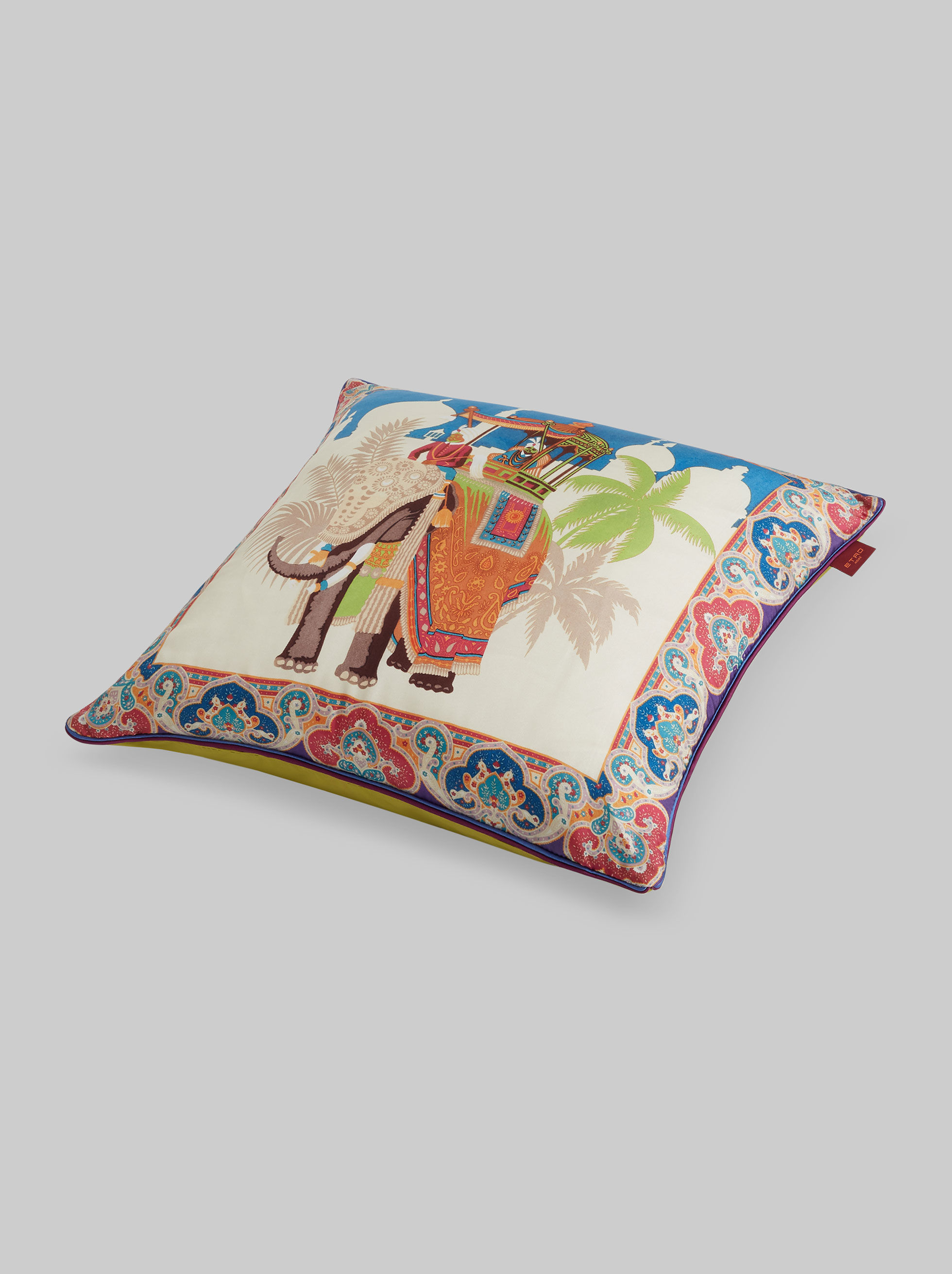 CLUTCH BAG PRINT SILK TWILL CUSHION