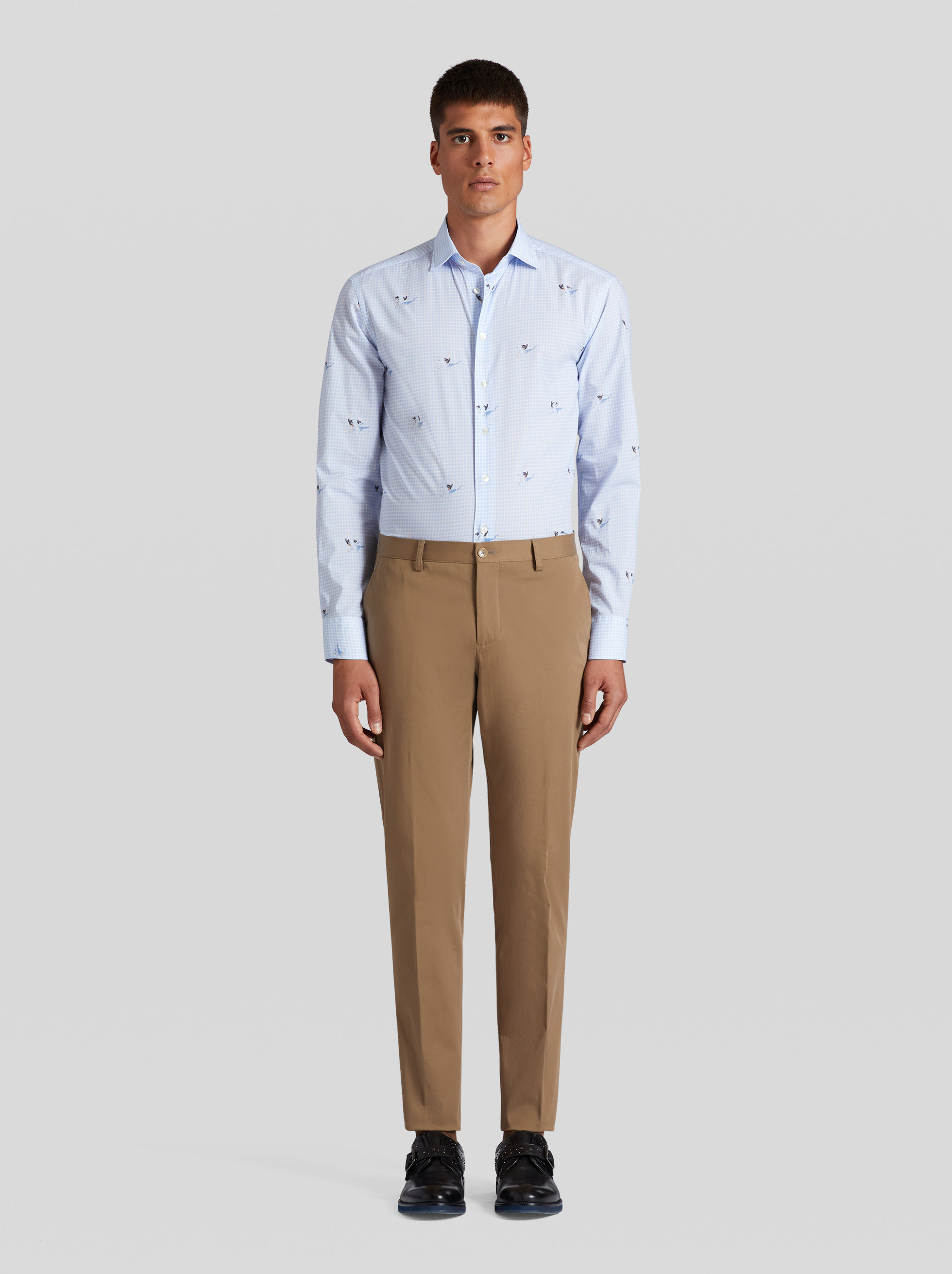 CASUAL COTTON TROUSERS