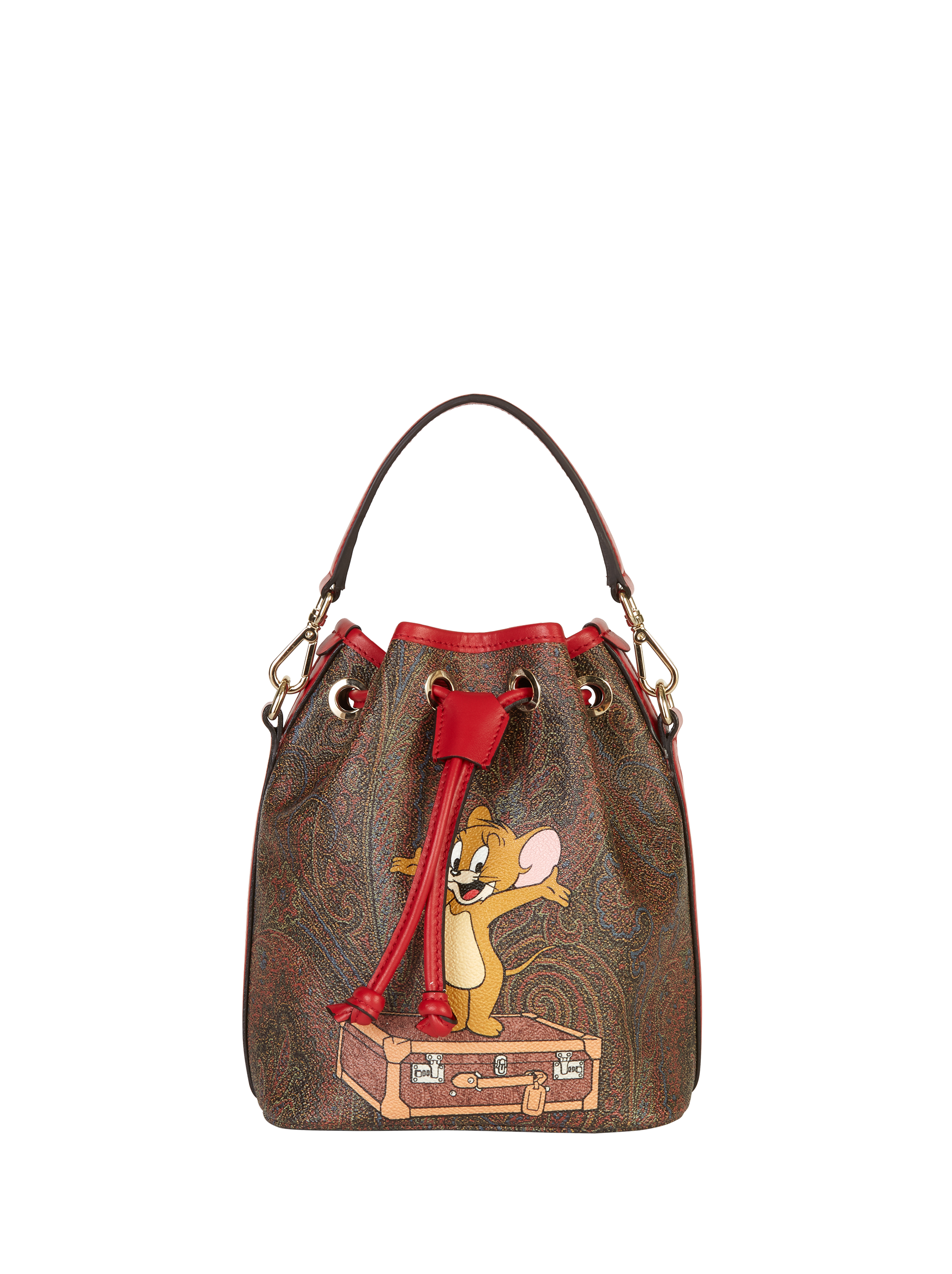 PAISLEY JERRY BUCKET BAG
