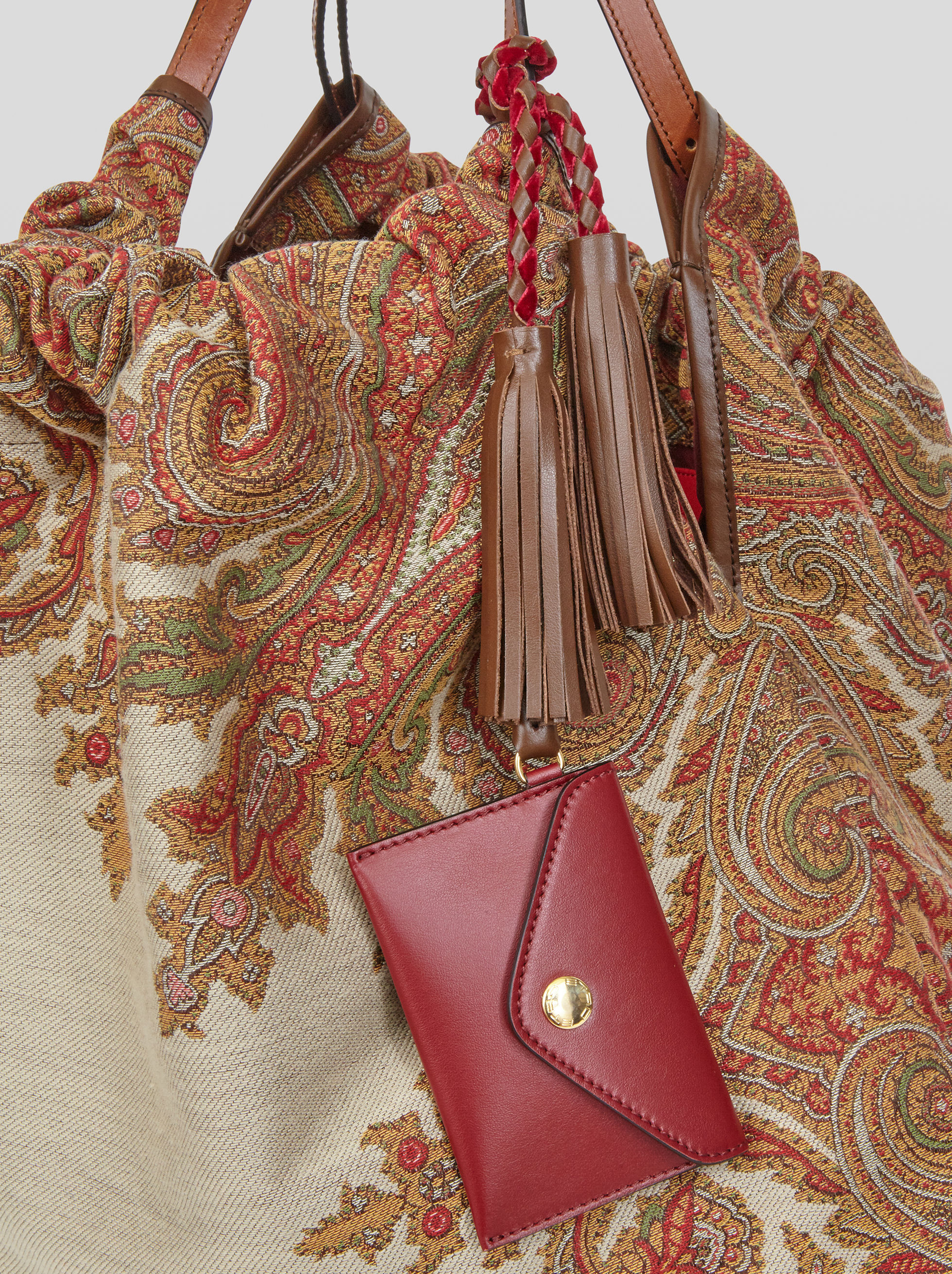 PAISLEY SHOPPING BAG