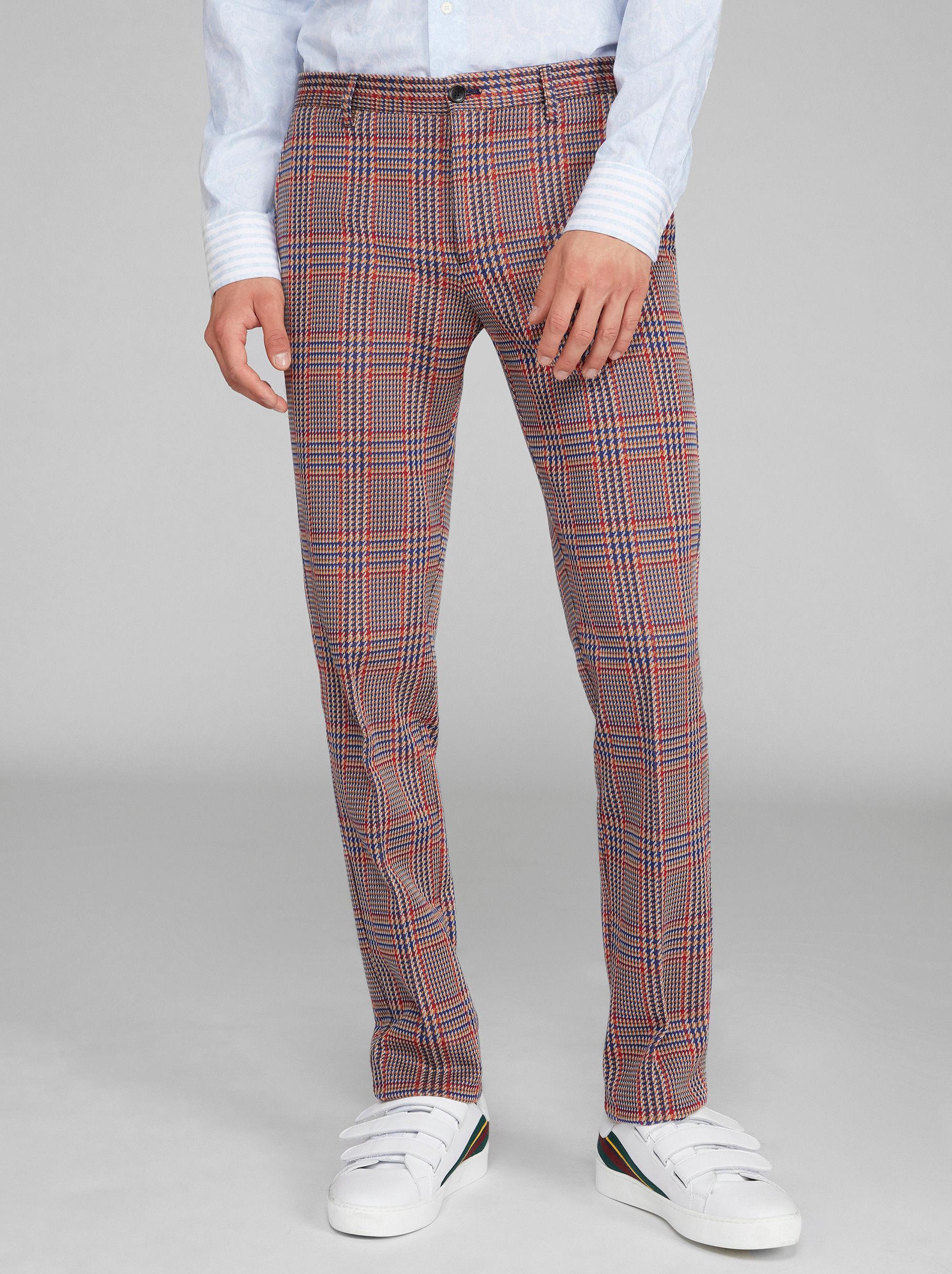 PRINCE OF WALES TAILORED TROUSERS