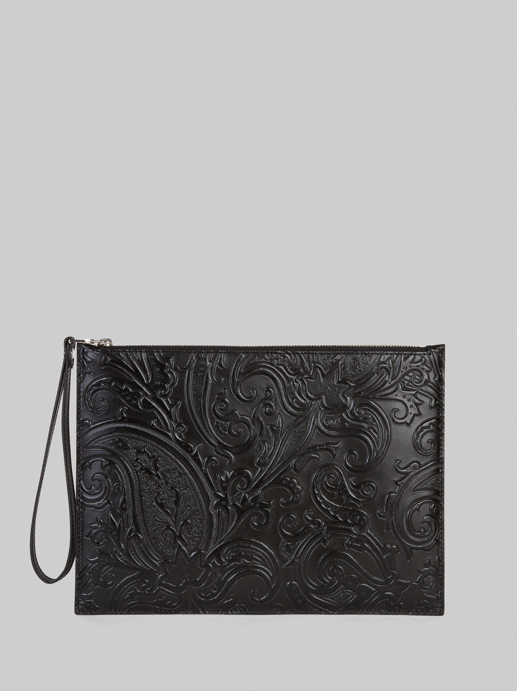 PAISLEY PRINT LEATHER TABLET CASE