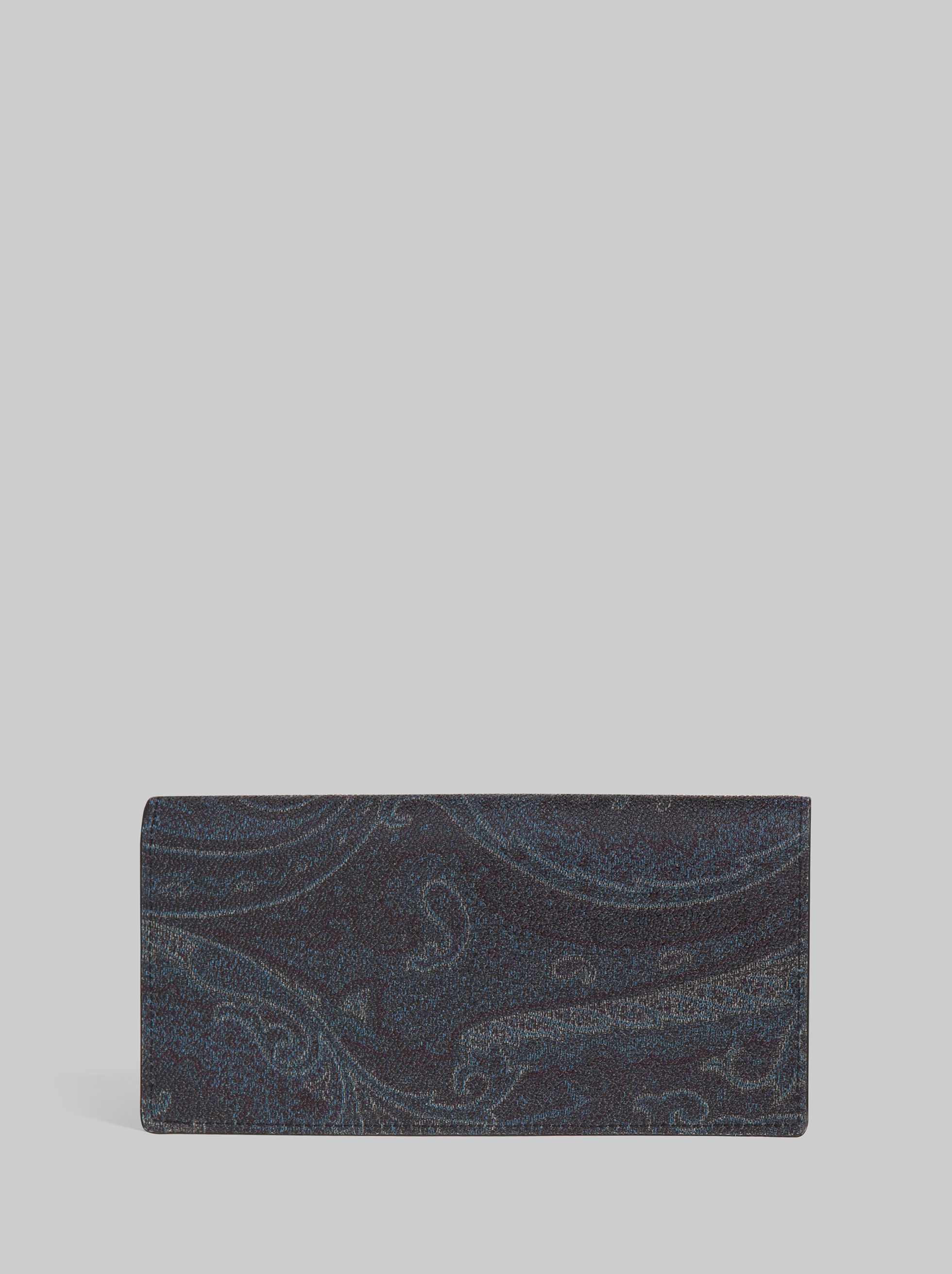 BLUE PAISLEY WALLET