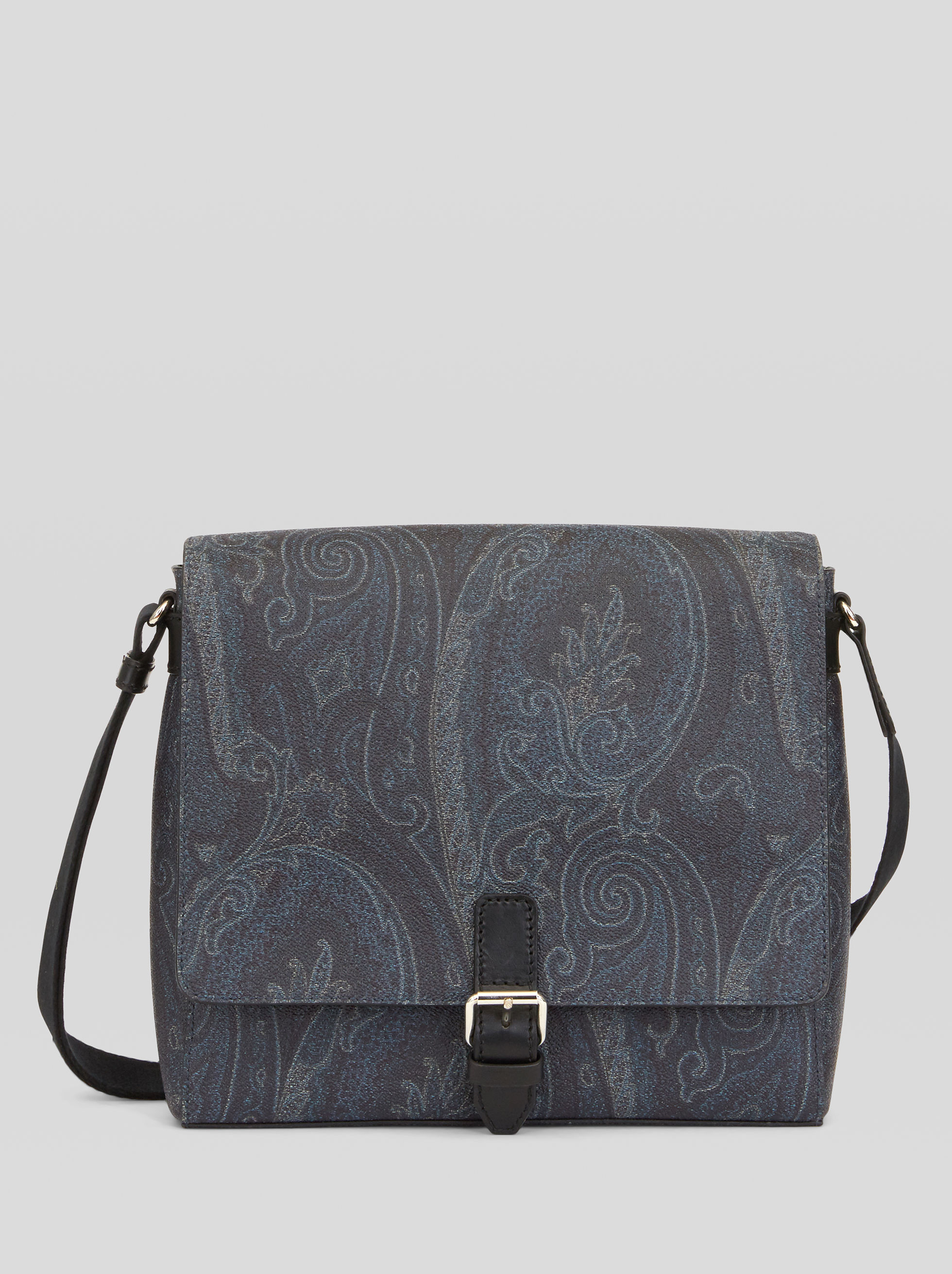 MESSENGER BAG WITH PAISLEY DESIGNS
