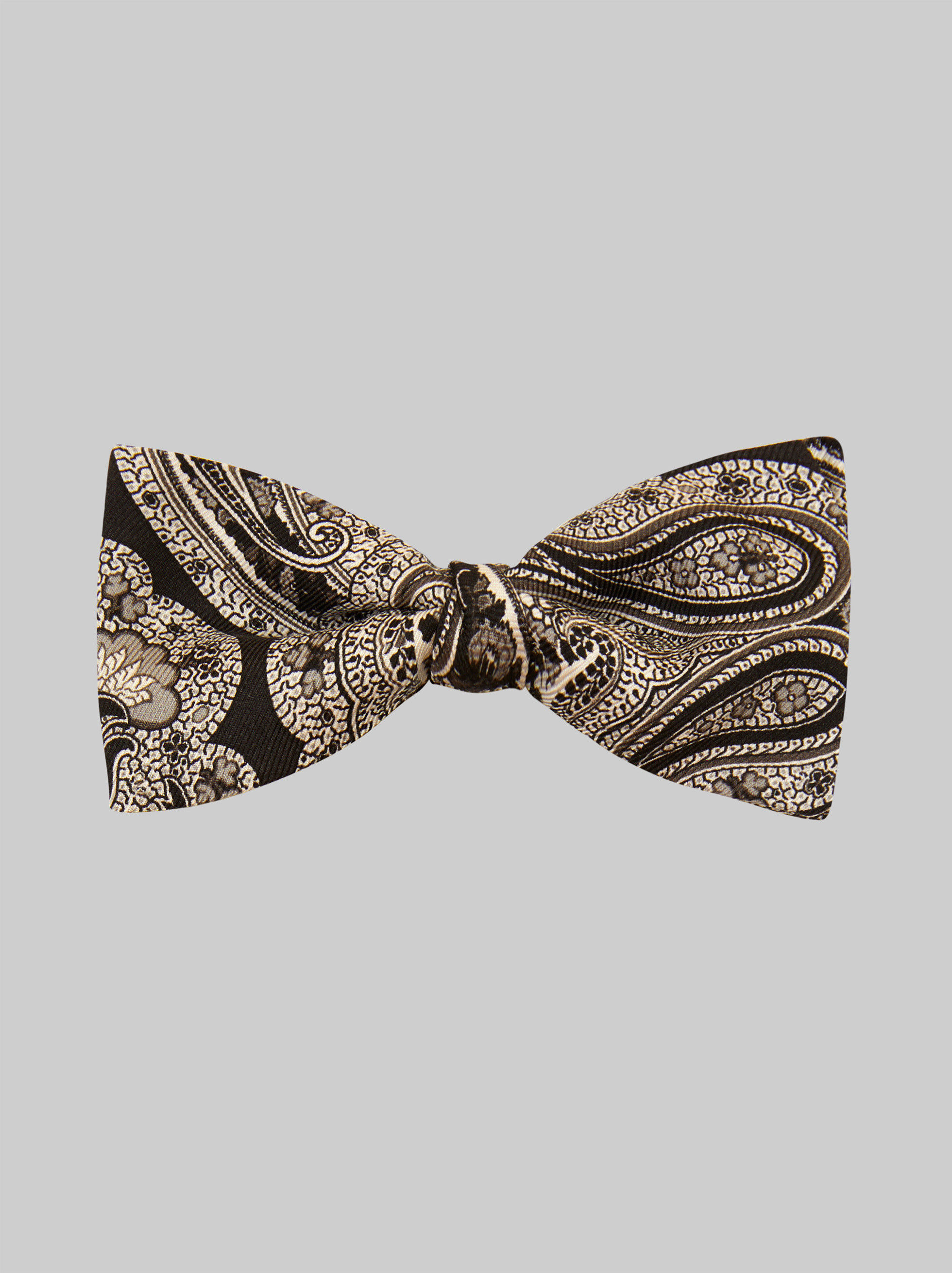 FLORAL PAISLEY BOW TIE