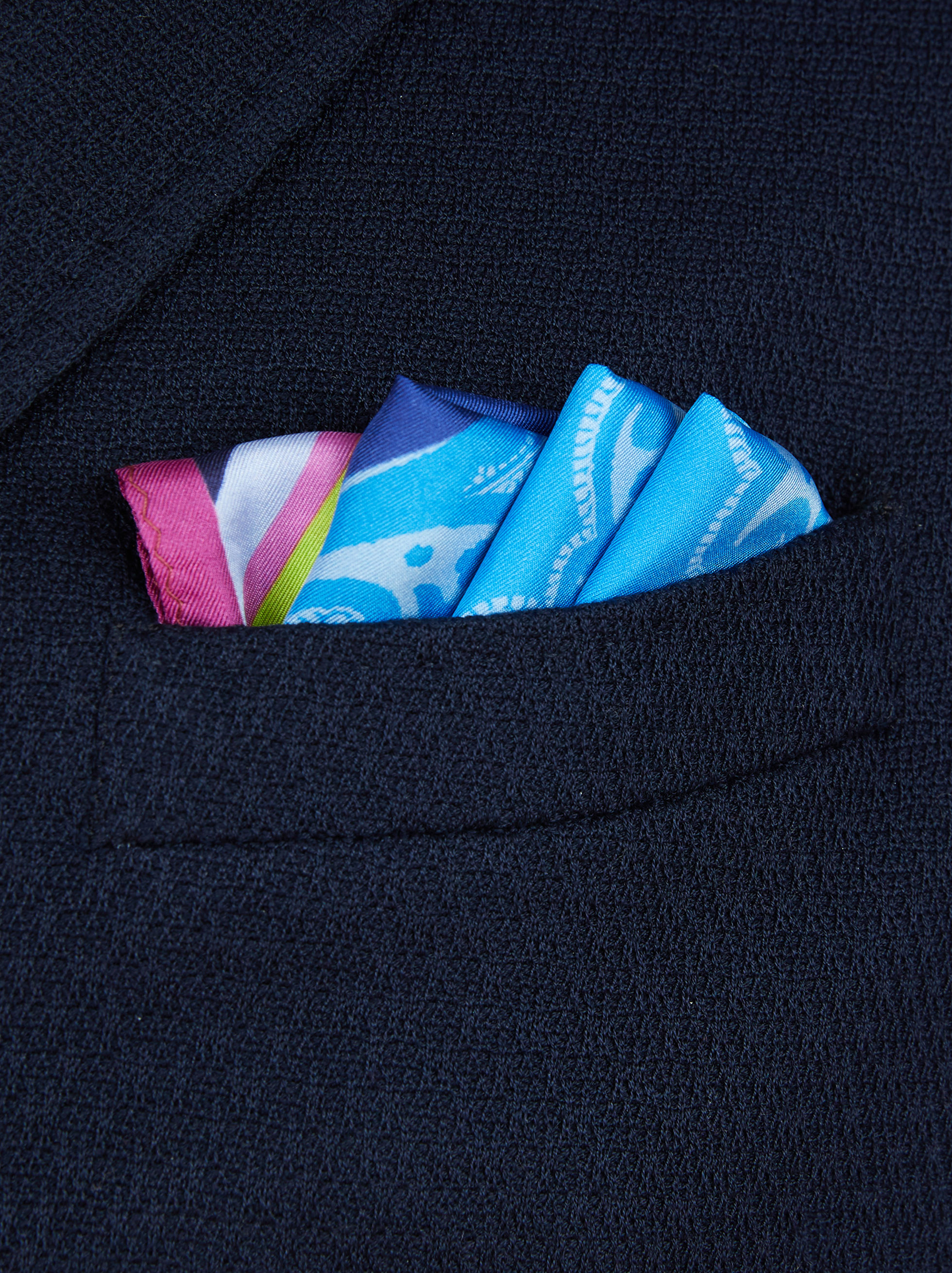 POCKET SQUARE WITH PEGASO