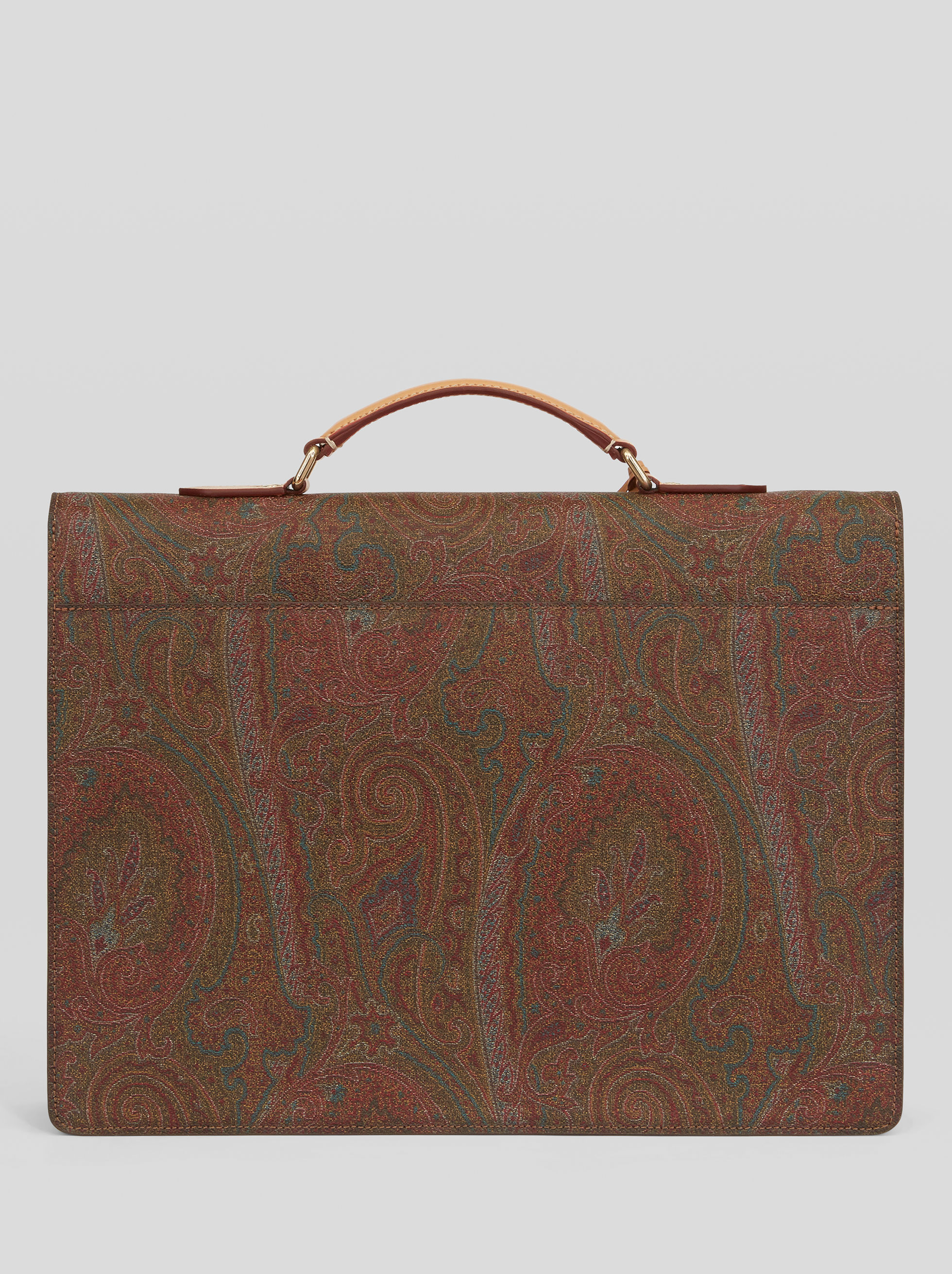 WORK BAG WITH PAISLEY PATTERNS