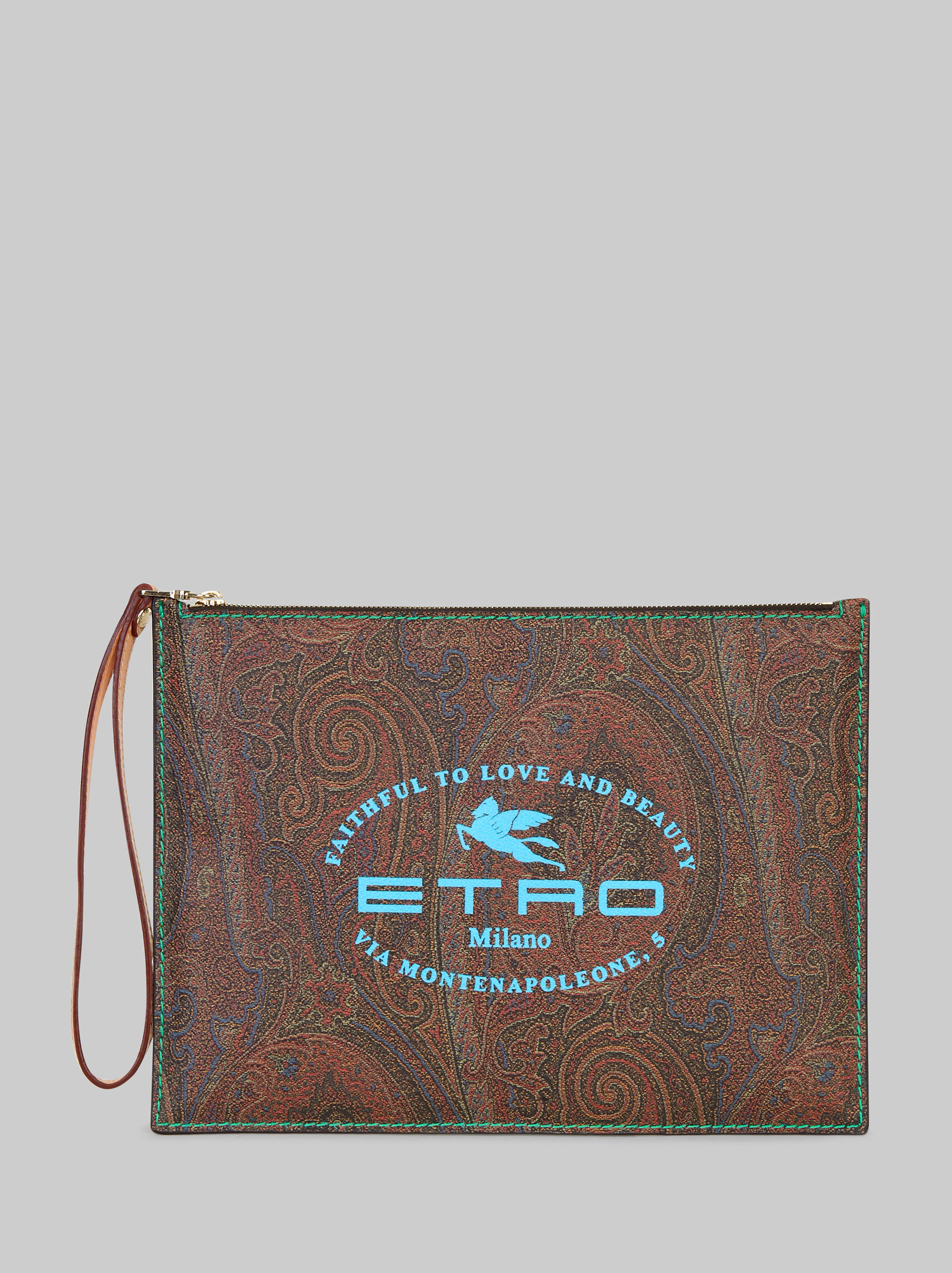PAISLEY TABLET CASE WITH LOGO