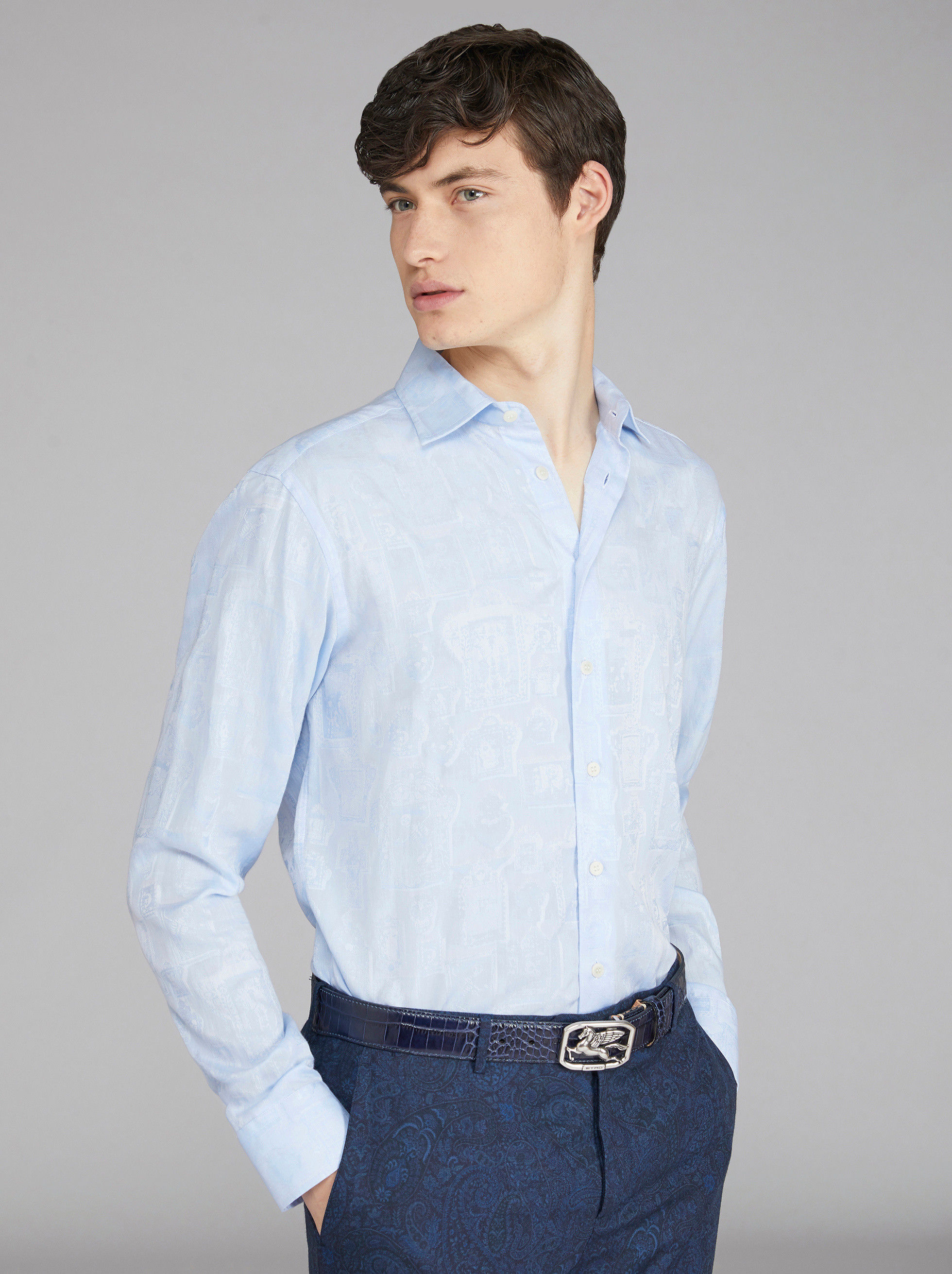 ORGANIC COTTON AND BENETROESSERE TENCEL™ SHIRT