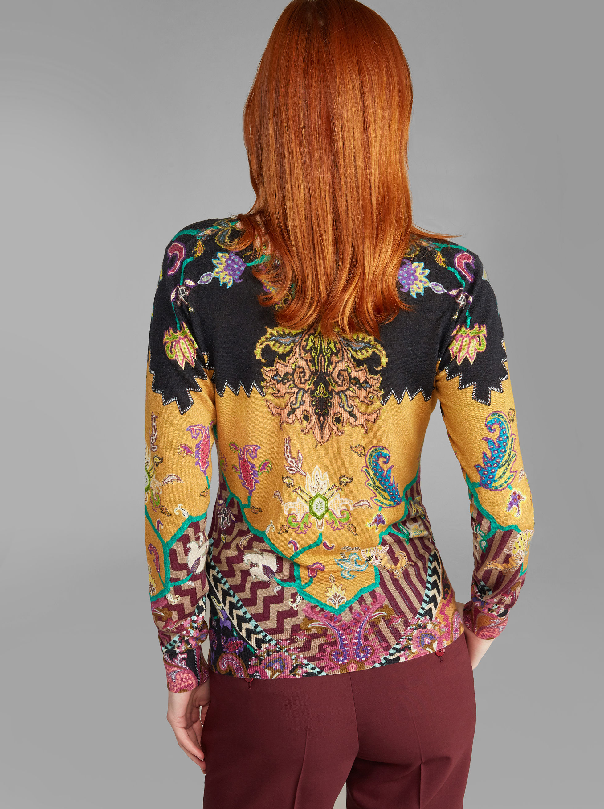 CARPET-PRINT JUMPER