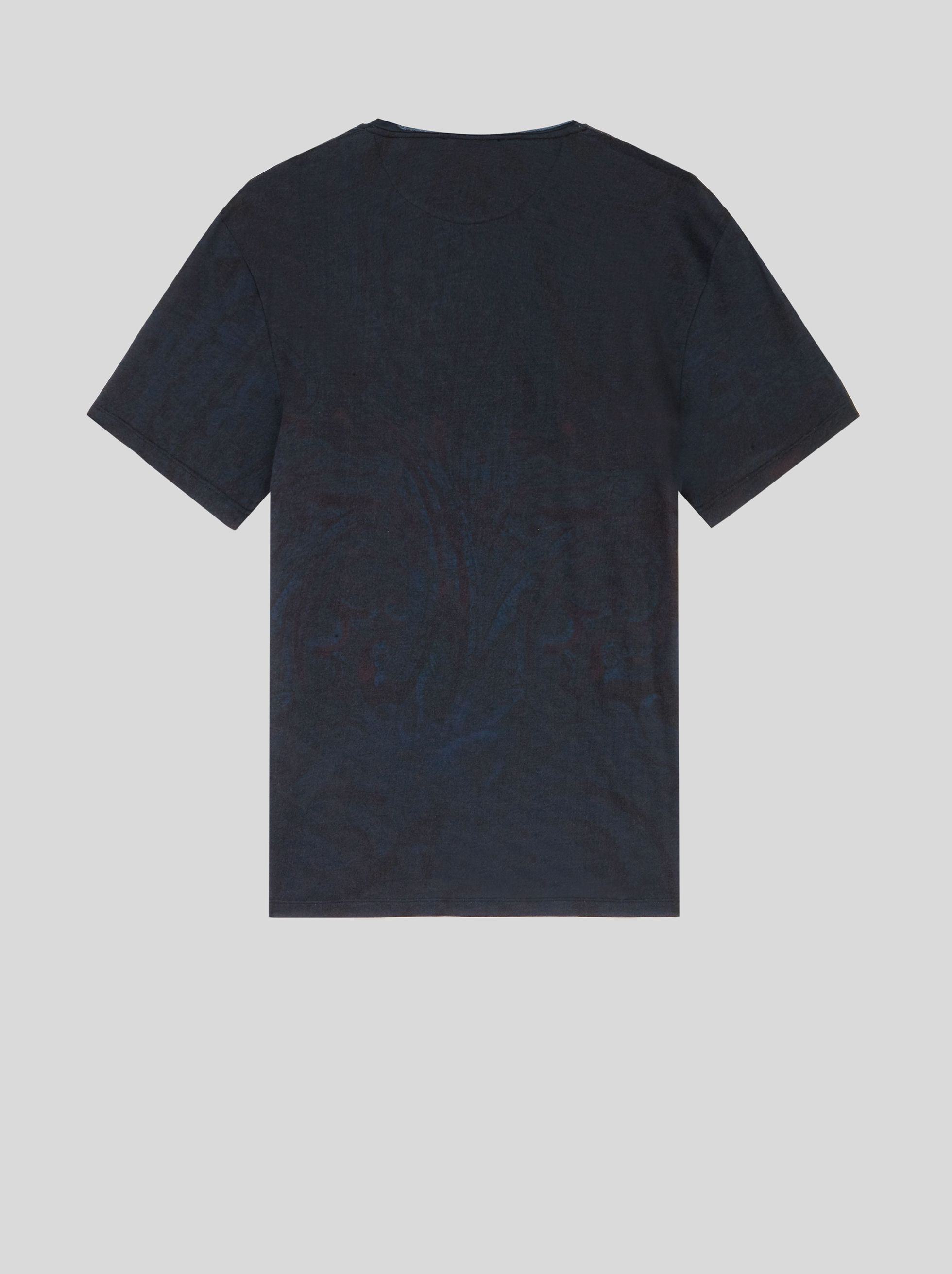 COTTON T-SHIRT WITH INLAY