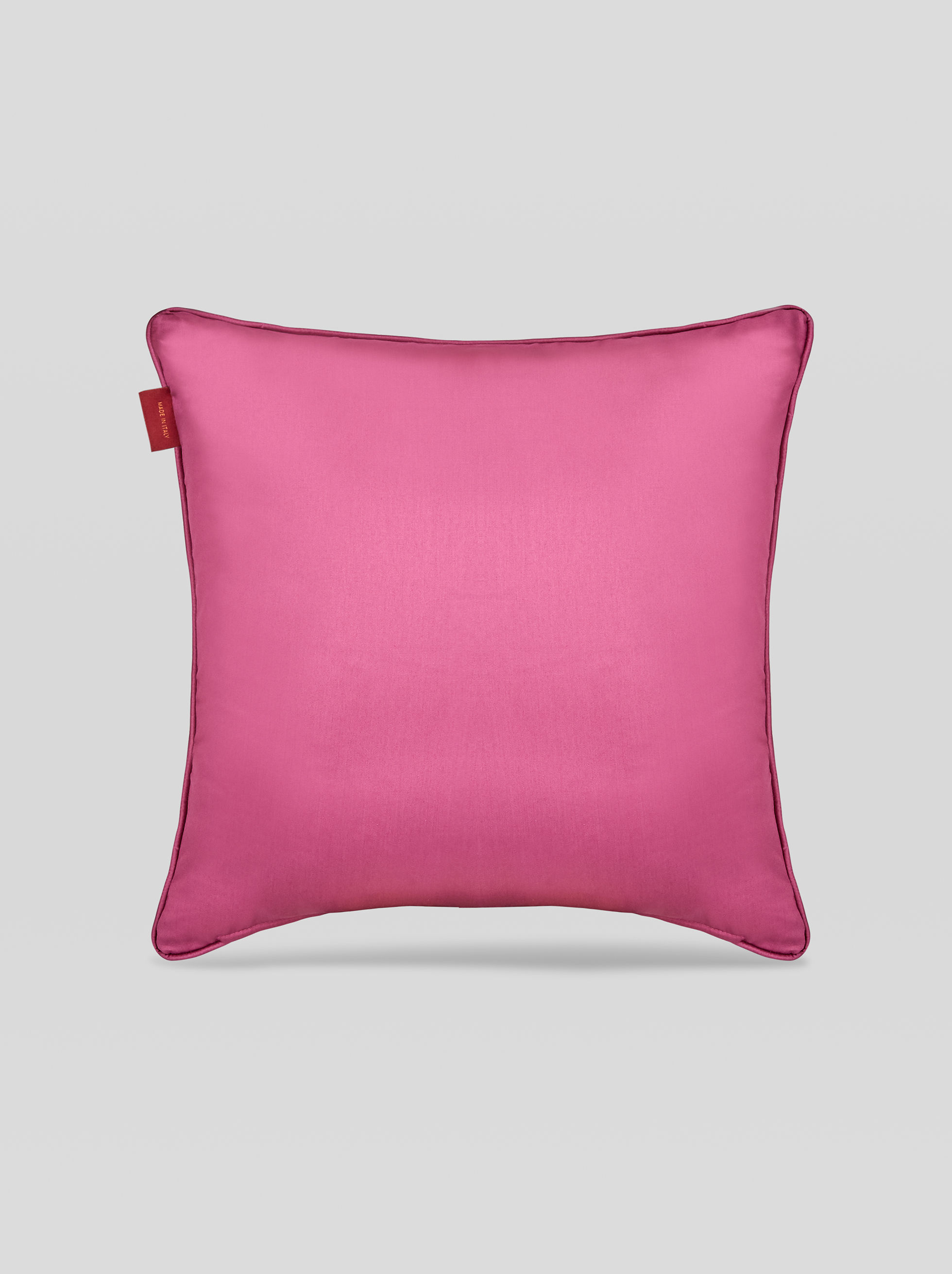 SATEEN CUSHION WITH PAISLEY PRINT