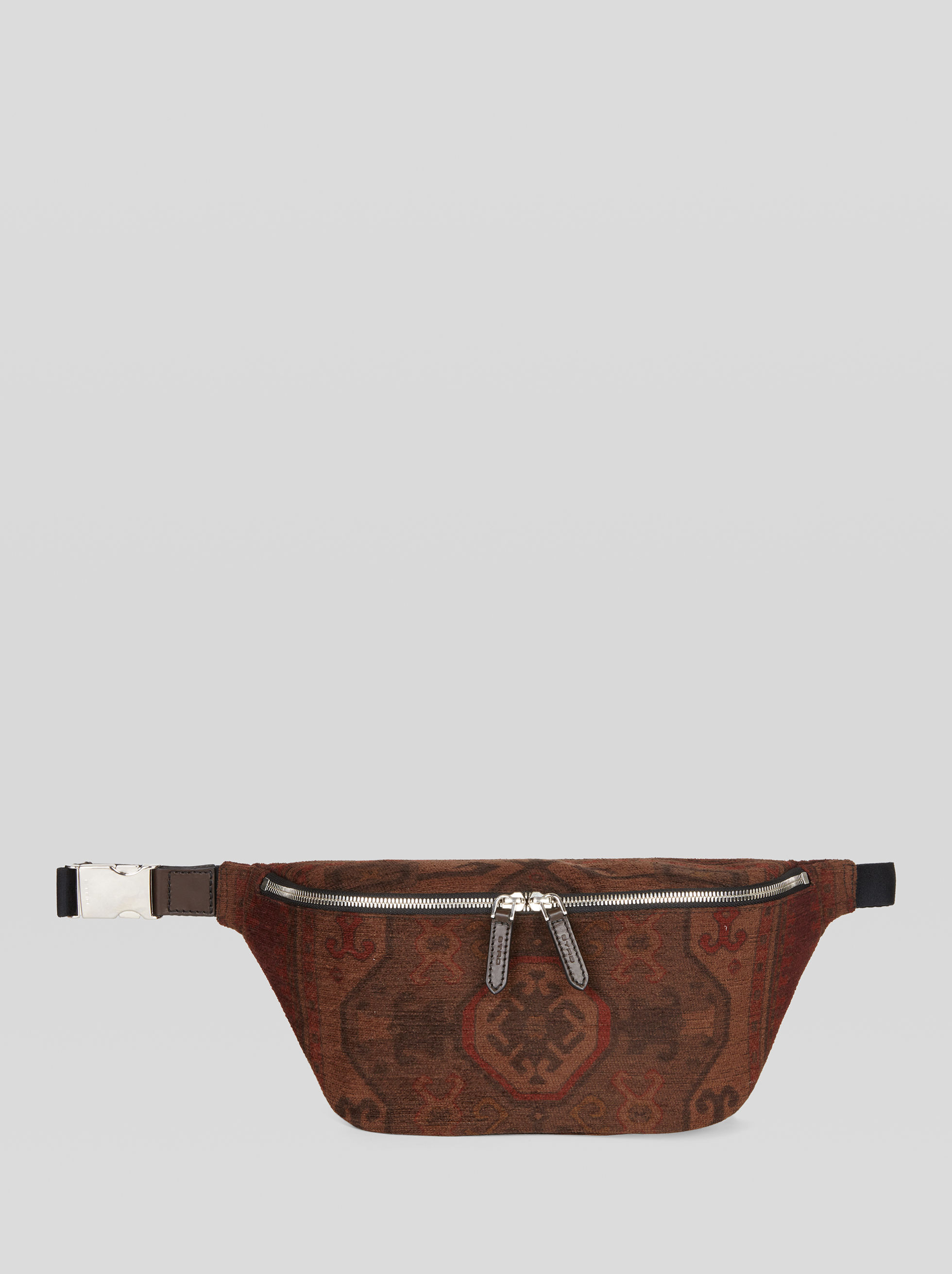 BUMBAG IN CARPET PATTERN FABRIC