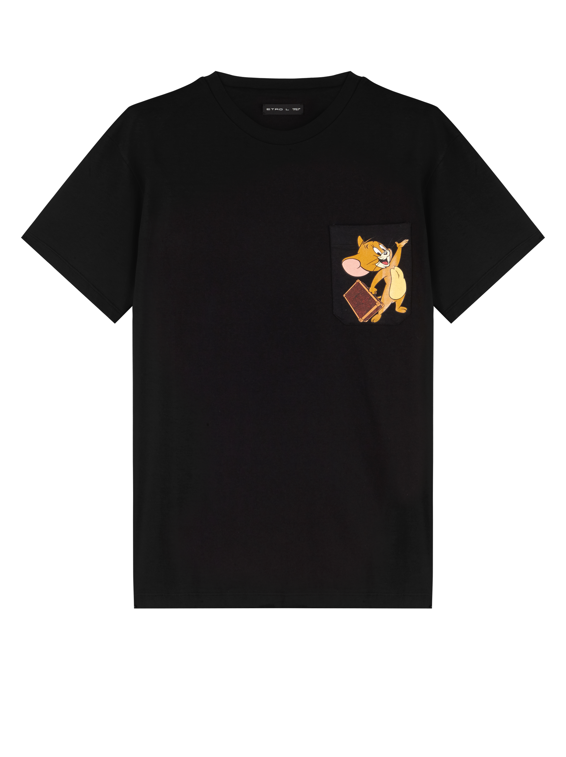 T-SHIRT WITH JERRY PRINT