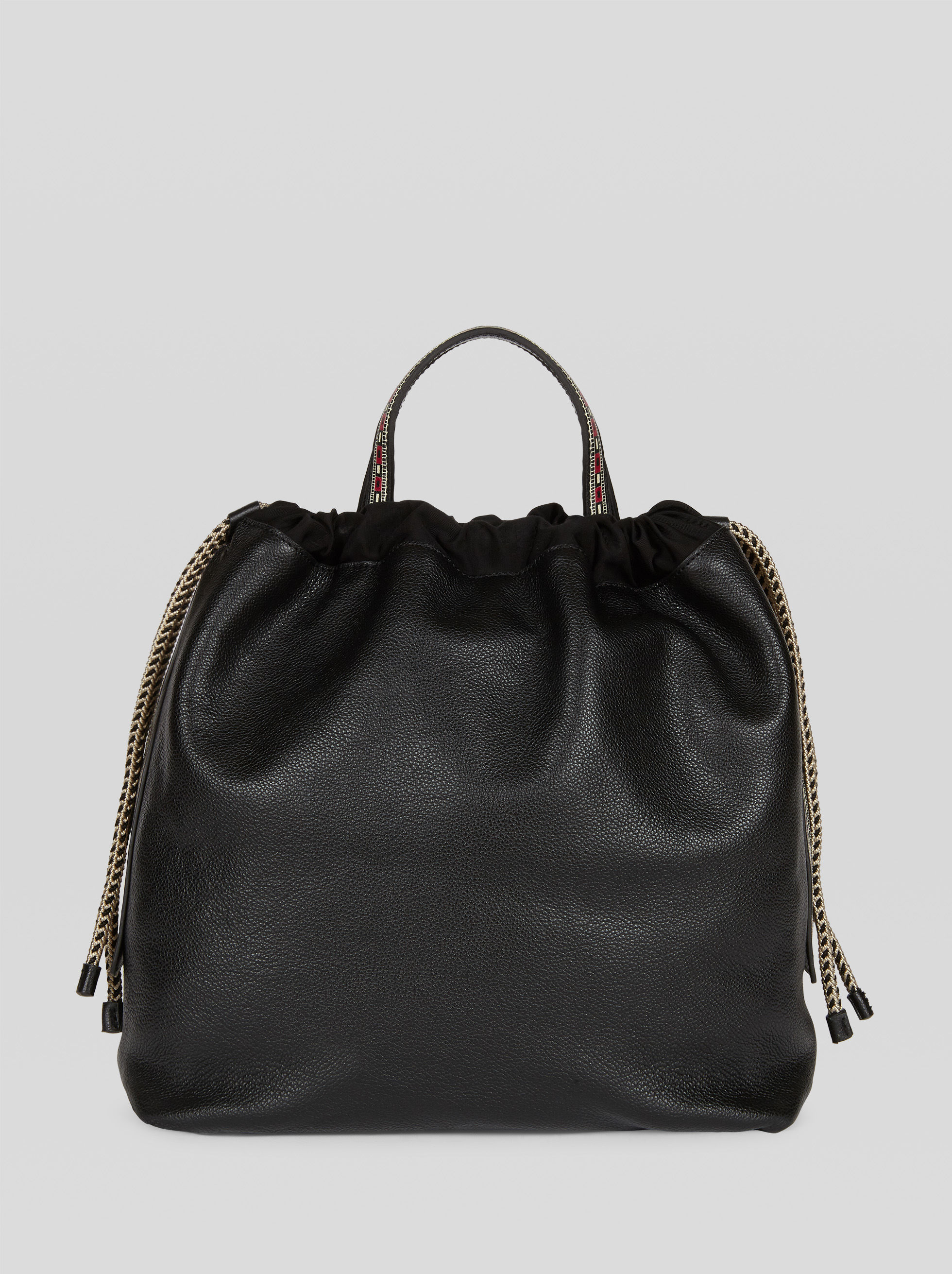 LARGE LEATHER ETROSAC BAG